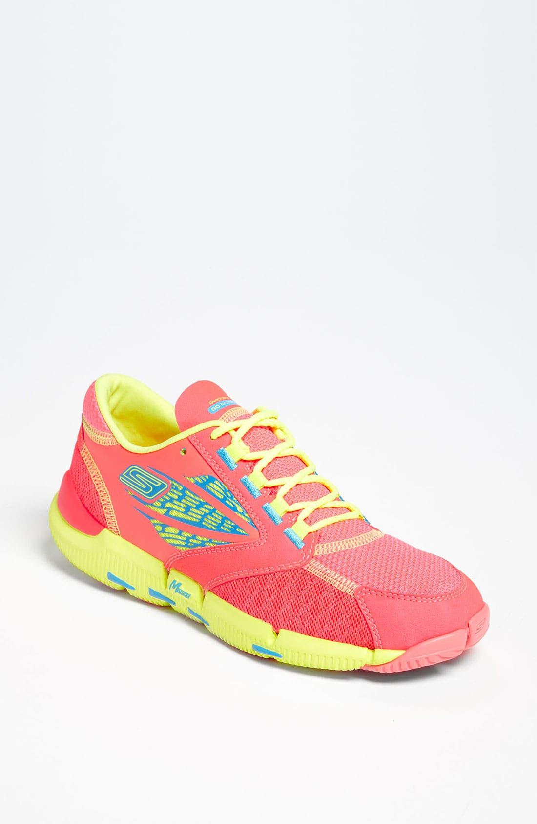 Alternate Image 1 Selected - SKECHERS 'GOBionic Ride' Running Shoe (Women)
