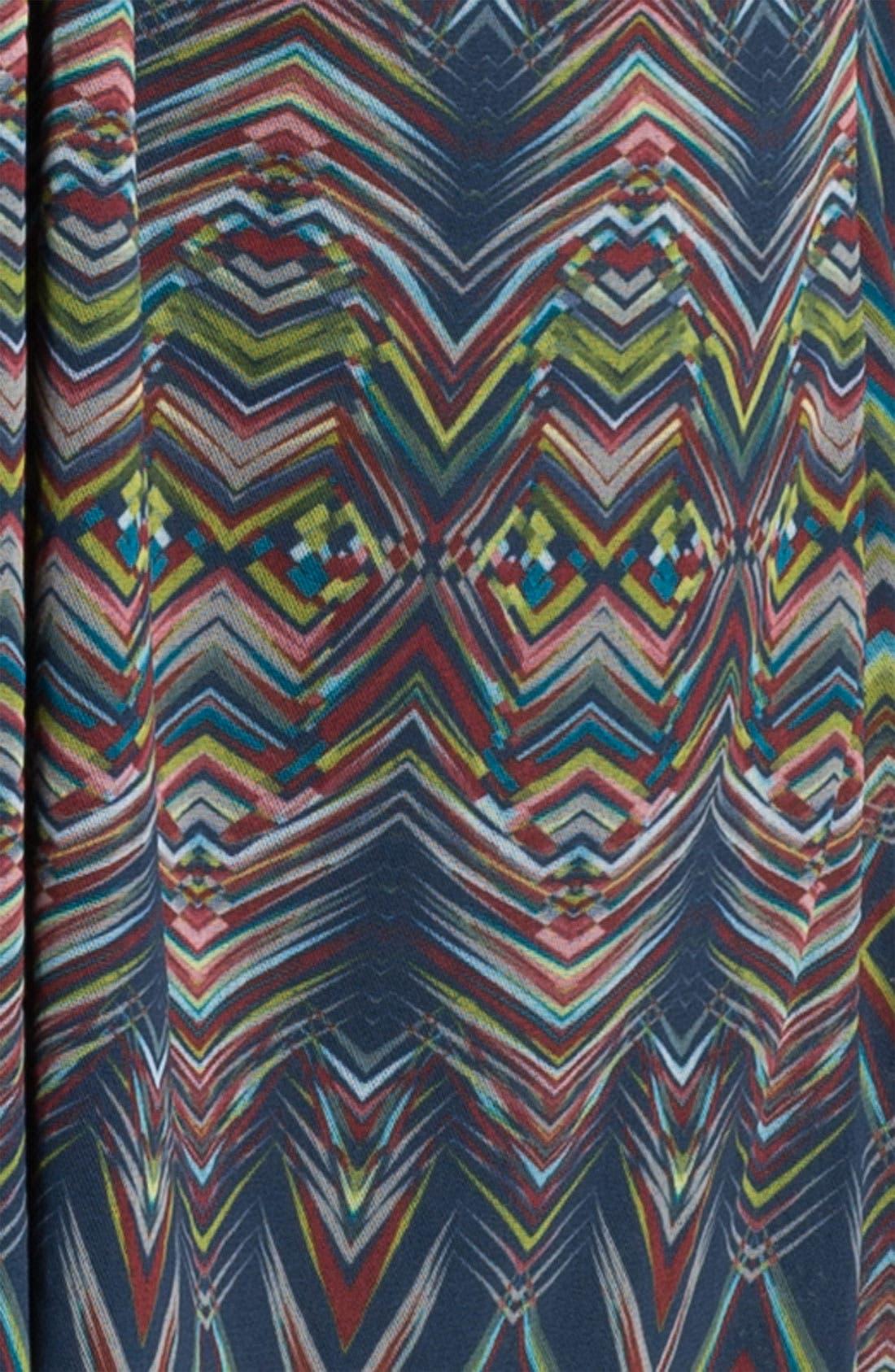 Alternate Image 3  - Sweet Pea by Stacy Frati Sleeveless Asymmetrical Dress (Plus)