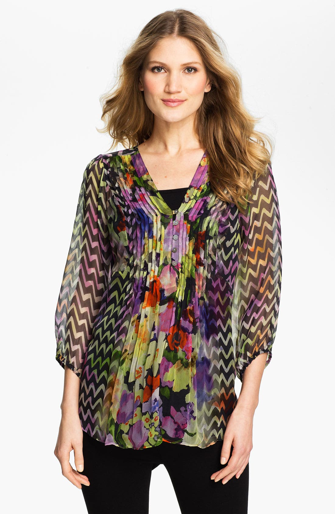 Alternate Image 1 Selected - Casual Studio V-Neck Blouse