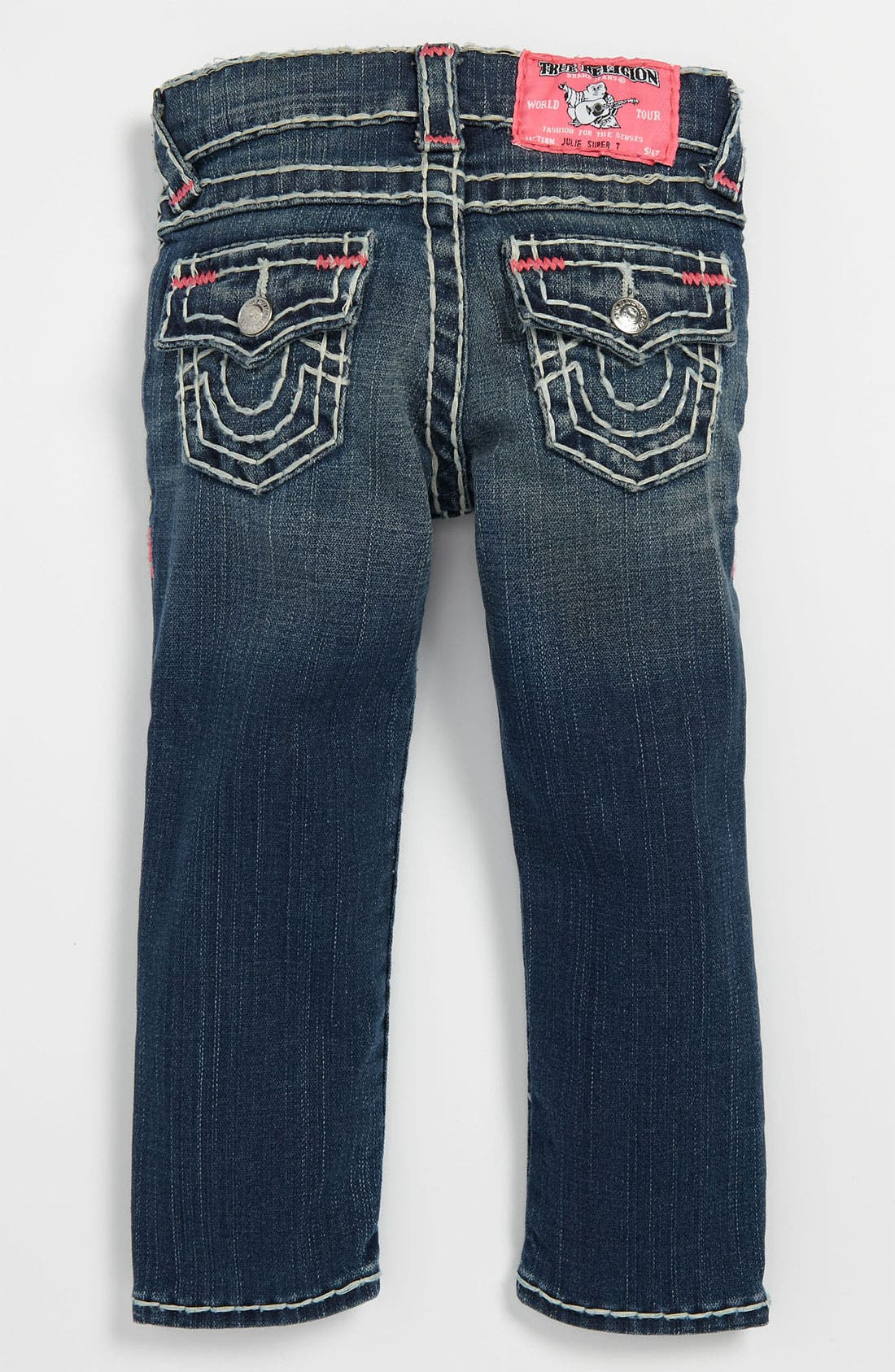 Main Image - True Religion Brand Jeans 'Julie' Skinny Leg Jeans (Toddler)