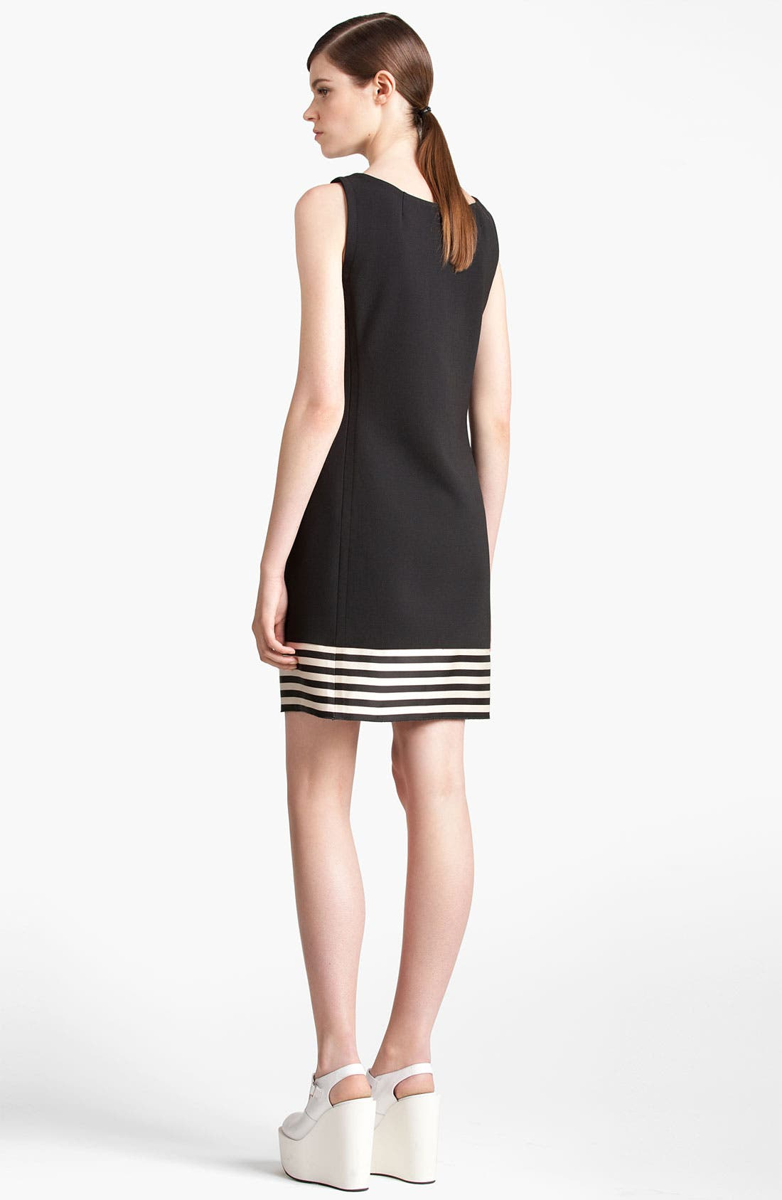 Alternate Image 3  - Jil Sander Navy Stripe Hem Dress