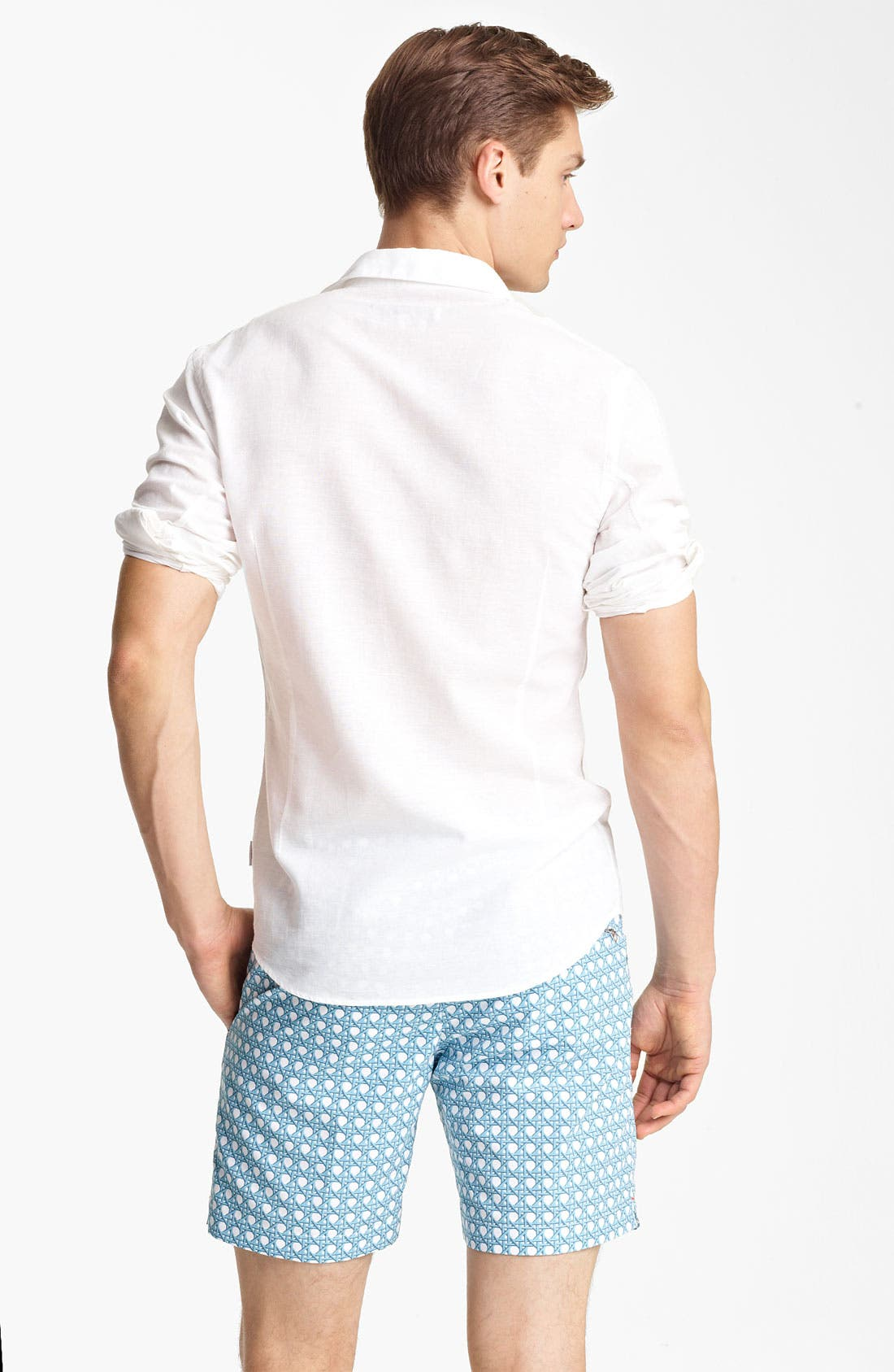 Alternate Image 2  - Orlebar Brown 'Fleming' Linen Blend Shirt