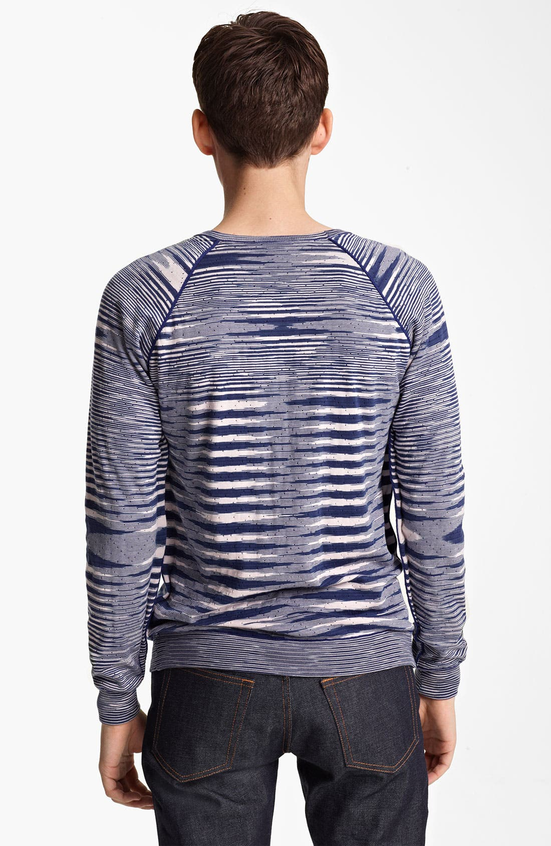 Alternate Image 2  - Missoni Reversible Crewneck Sweater