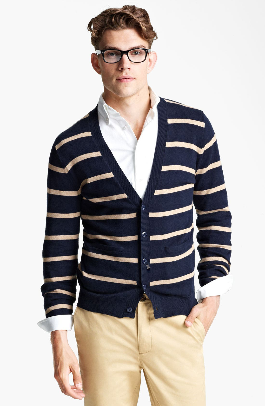 Alternate Image 1 Selected - Shipley & Halmos Stripe Cardigan