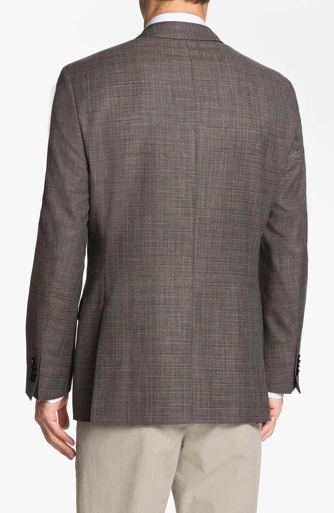 Alternate Image 2  - BOSS Black 'Pasini' Wool Blend Sportcoat
