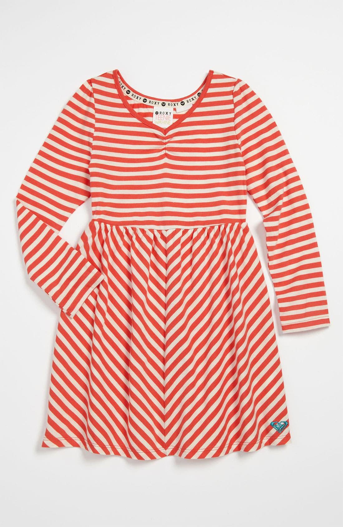 Alternate Image 1 Selected - 'Wintergreen' Knit Dress (Little Girls)