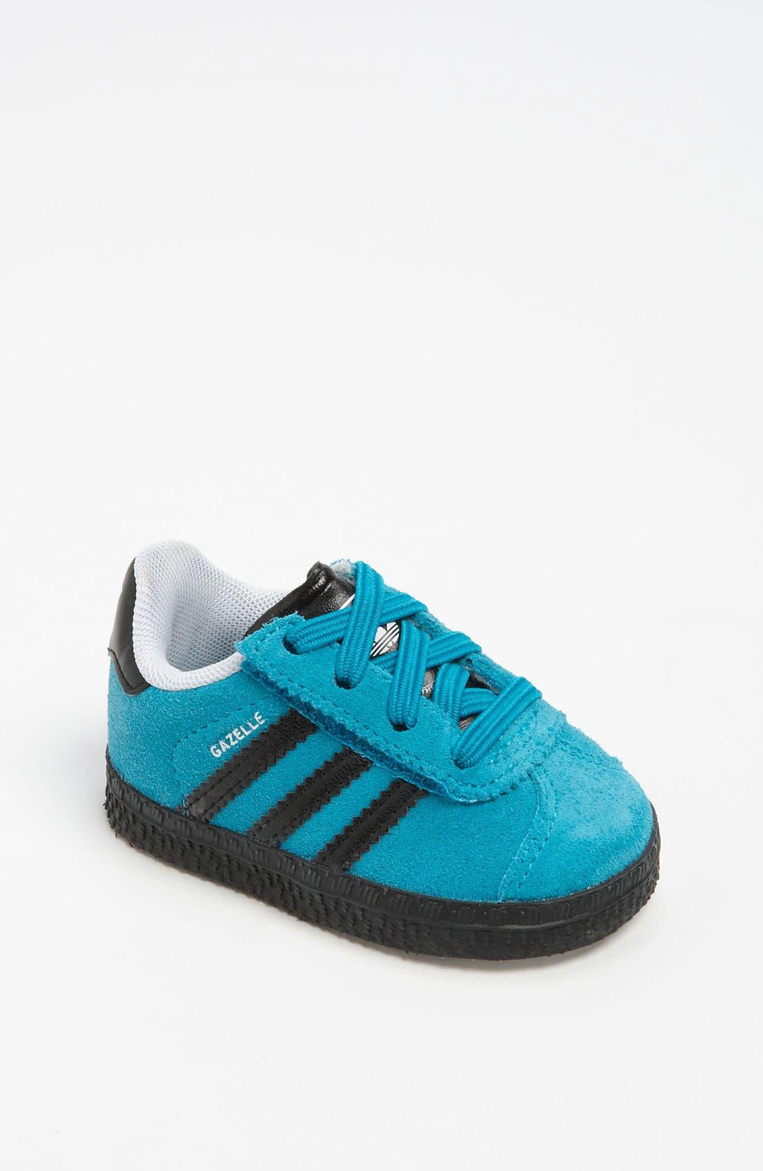 Alternate Image 1 Selected - adidas 'Gazelle 2' Sneaker (Baby, Walker & Toddler)