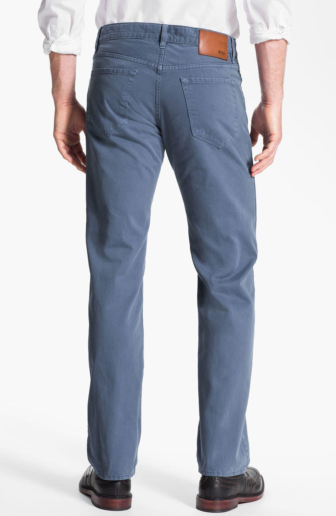 Alternate Image 2  - BOSS HUGO BOSS 'Maine' Five Pocket Pants