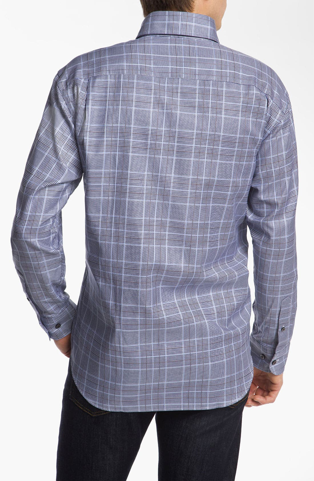Alternate Image 2  - Robert Talbott Woven Sport Shirt