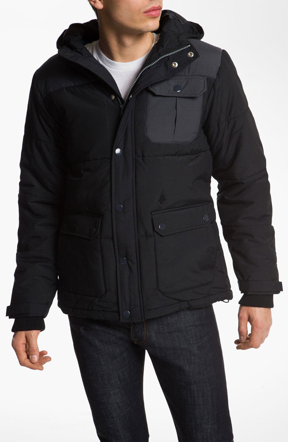 Alternate Image 1 Selected - Volcom 'Hodge Podge' Quilted Jacket