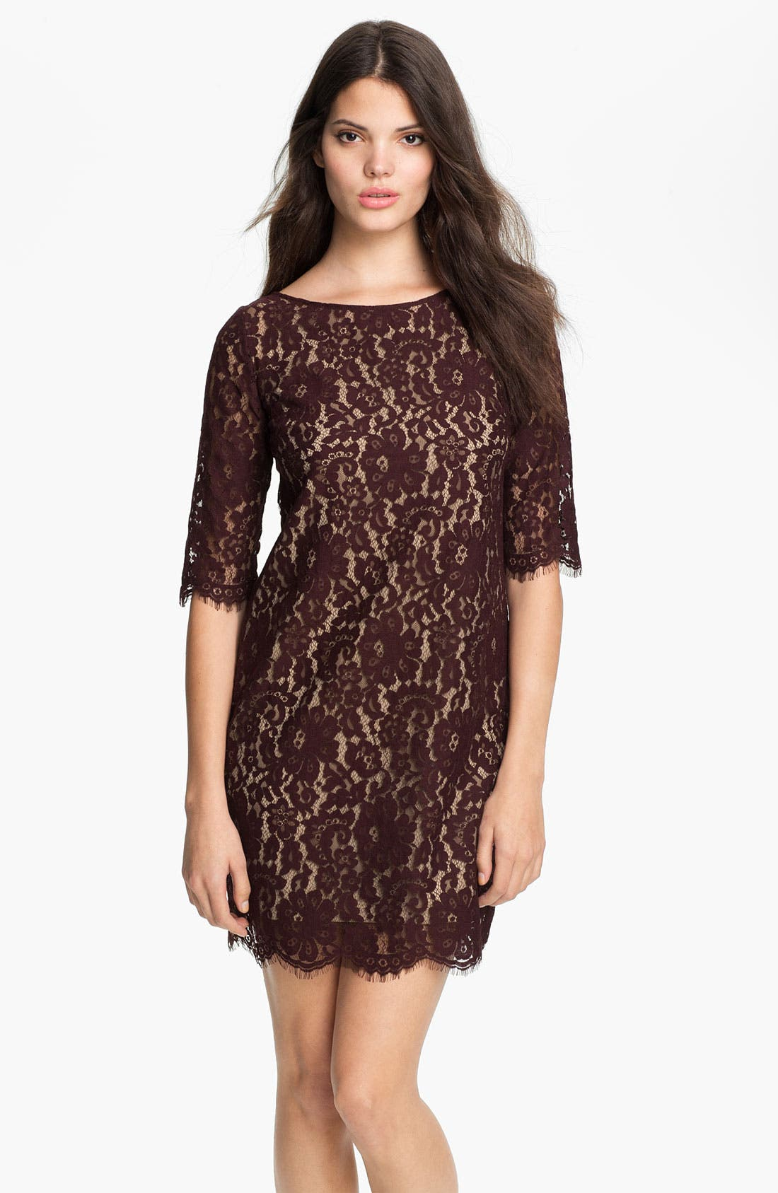 Alternate Image 1 Selected - Robert Rodriguez Lace Minidress