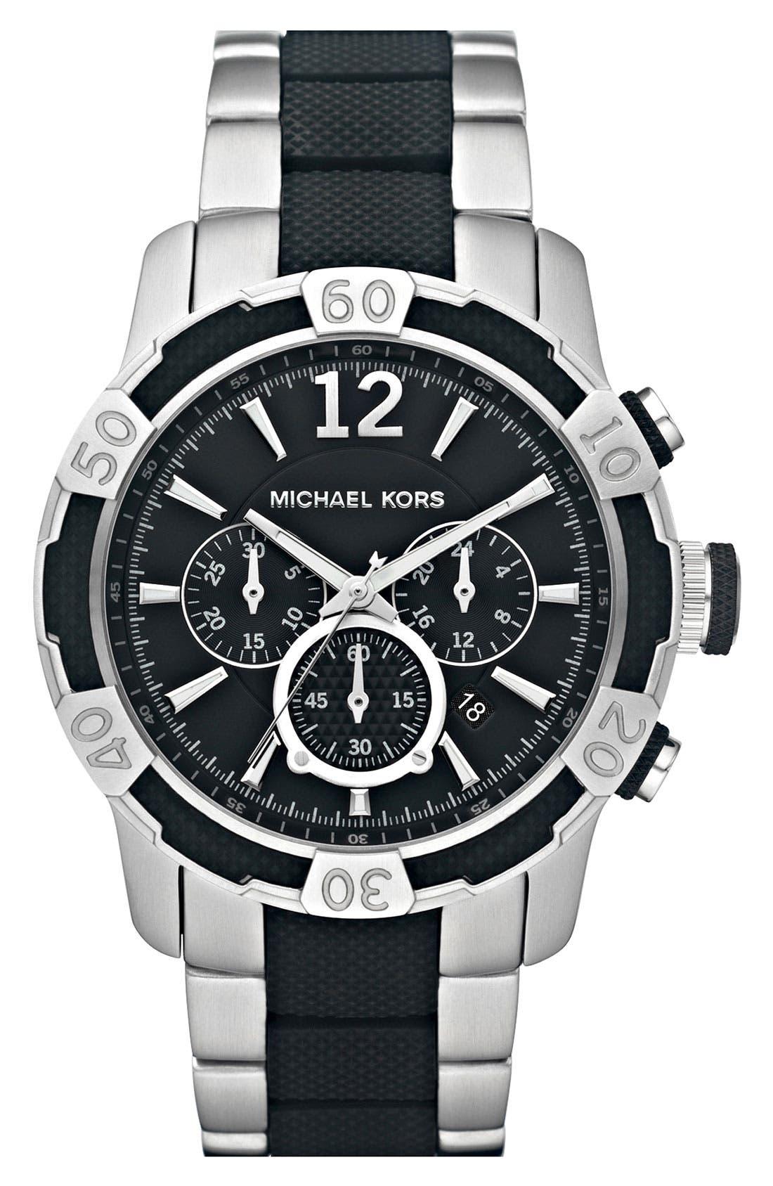Alternate Image 1 Selected - Michael Kors 'Diver' Chronograph Watch