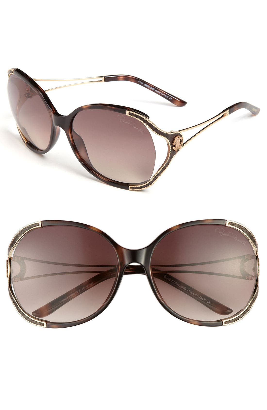 Alternate Image 1 Selected - Roberto Cavalli 62mm Oversized Sunglasses