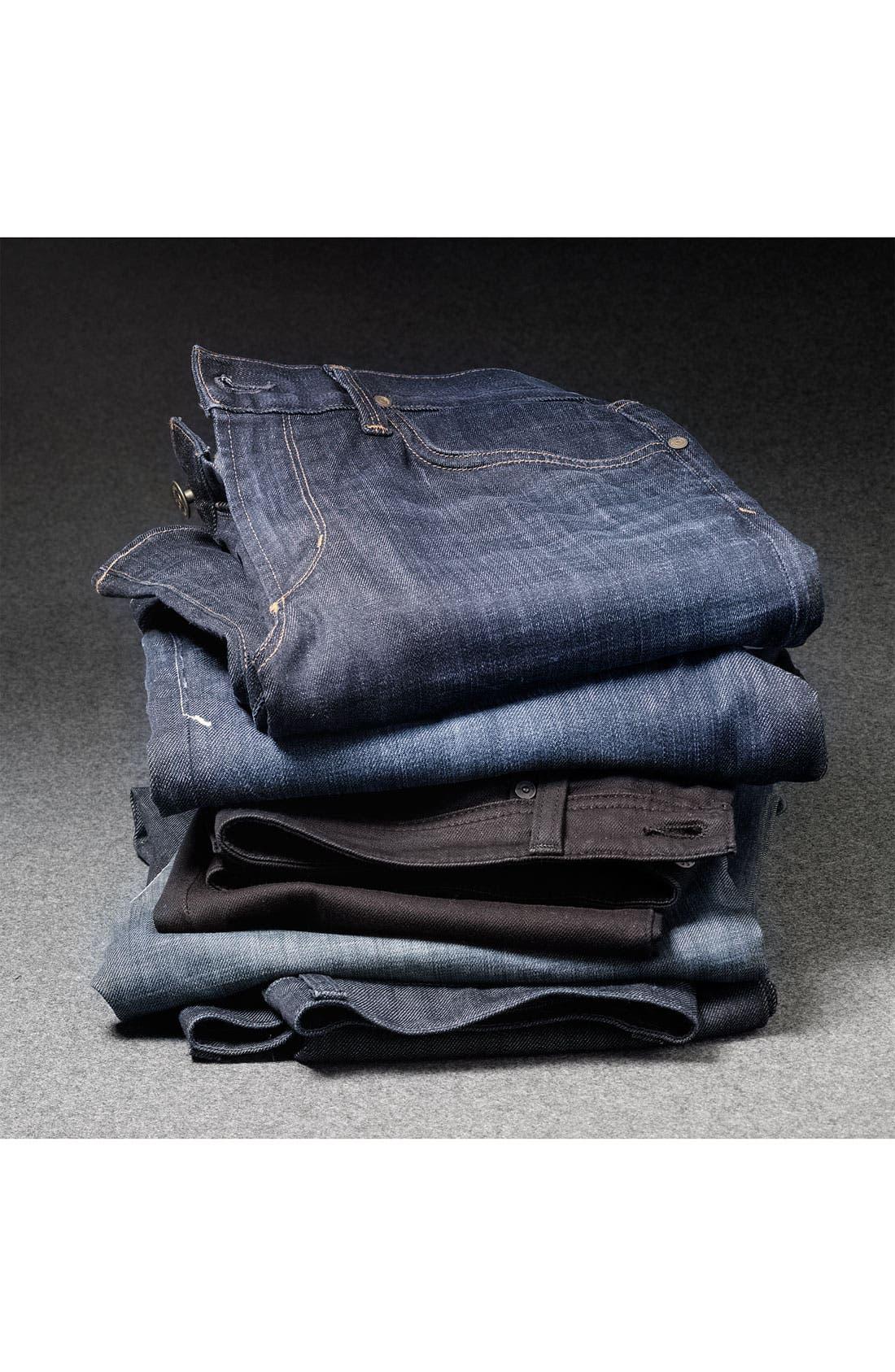 Alternate Image 5  - Lucky Brand '329' Classic Straight Leg Jeans (Ol' Lipservice)