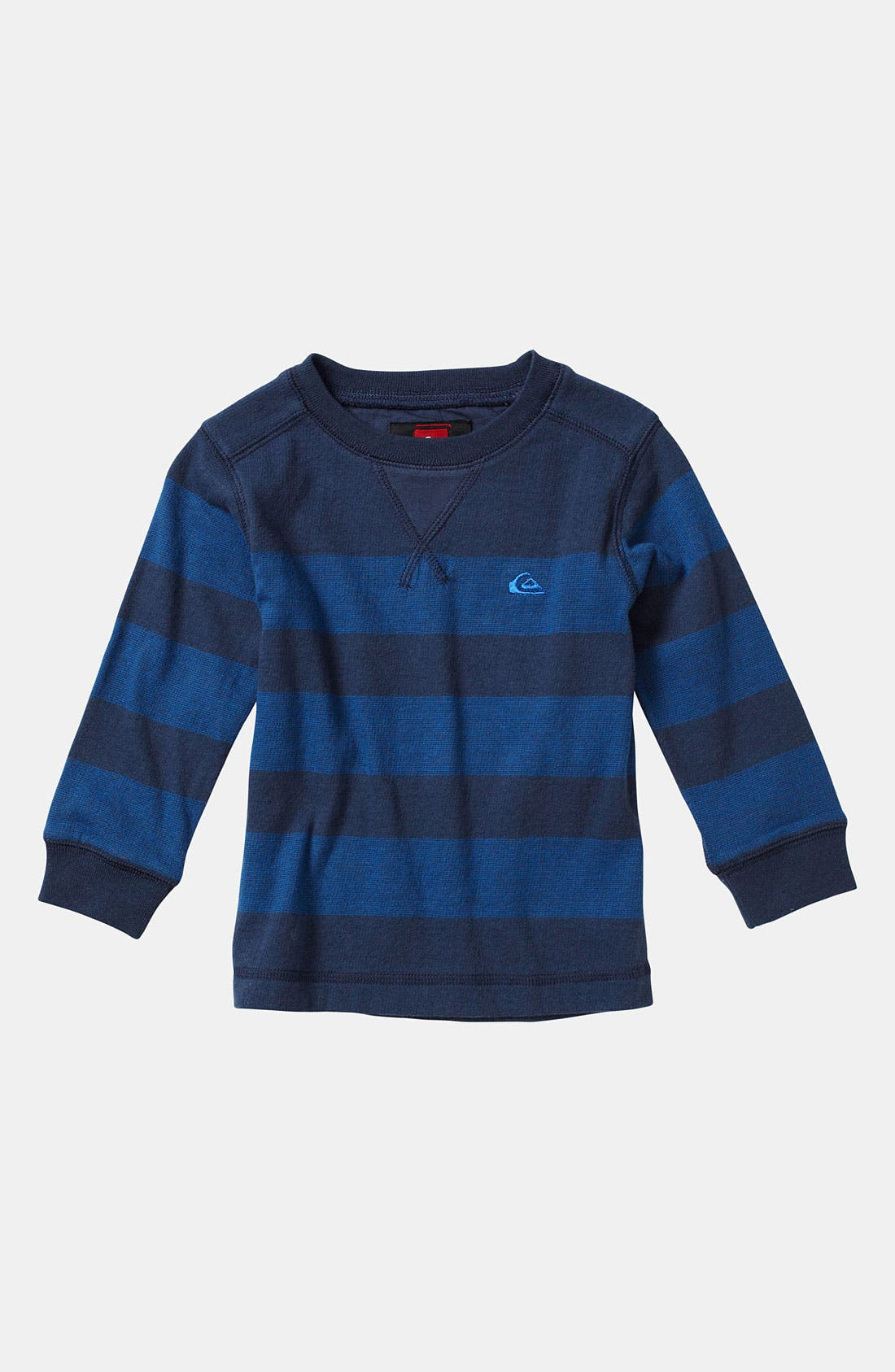 Alternate Image 1 Selected - Quiksilver 'Snit' Stripe Shirt (Toddler)