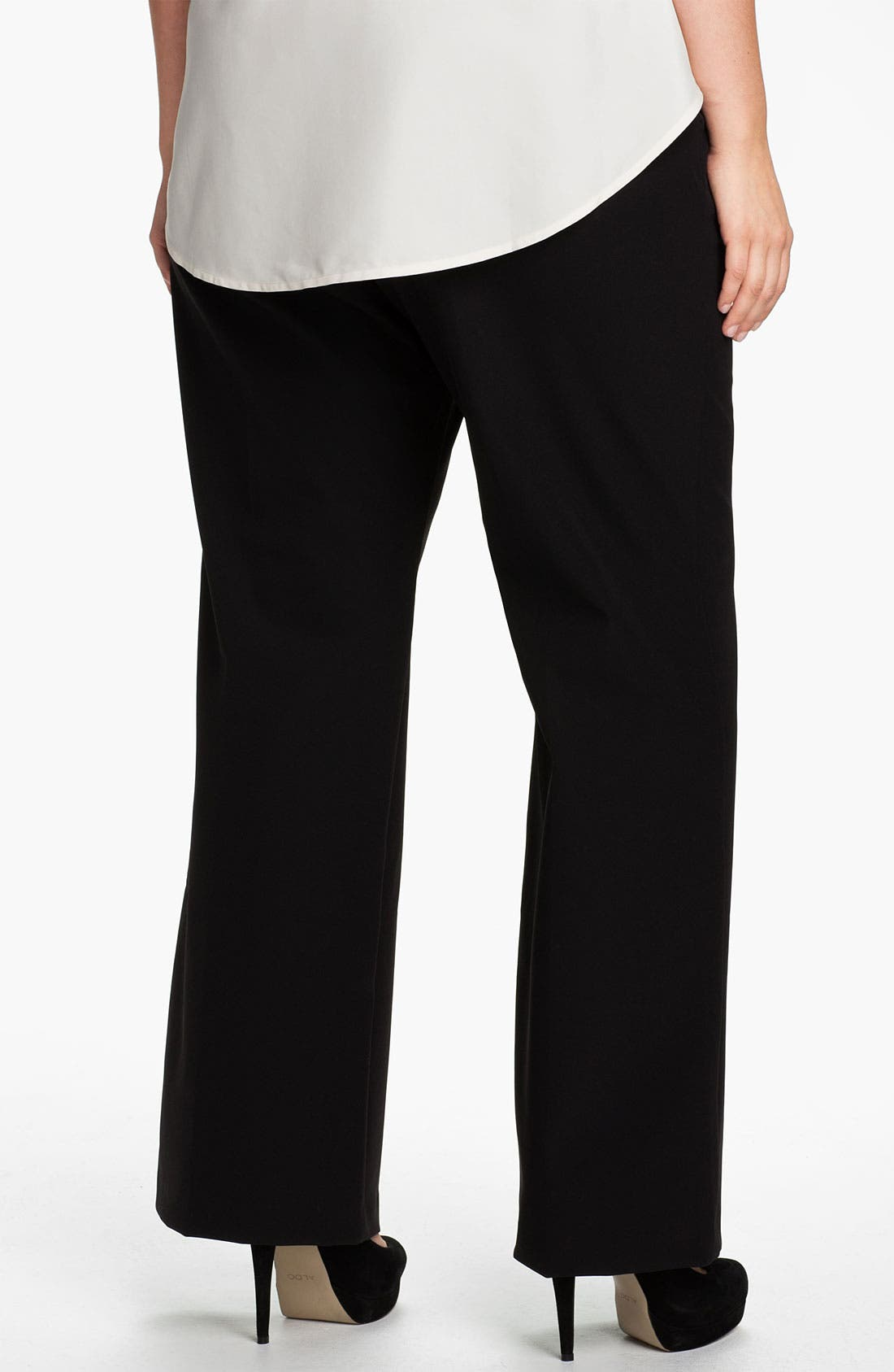 Alternate Image 2  - Kenneth Cole New York Trousers (Plus)