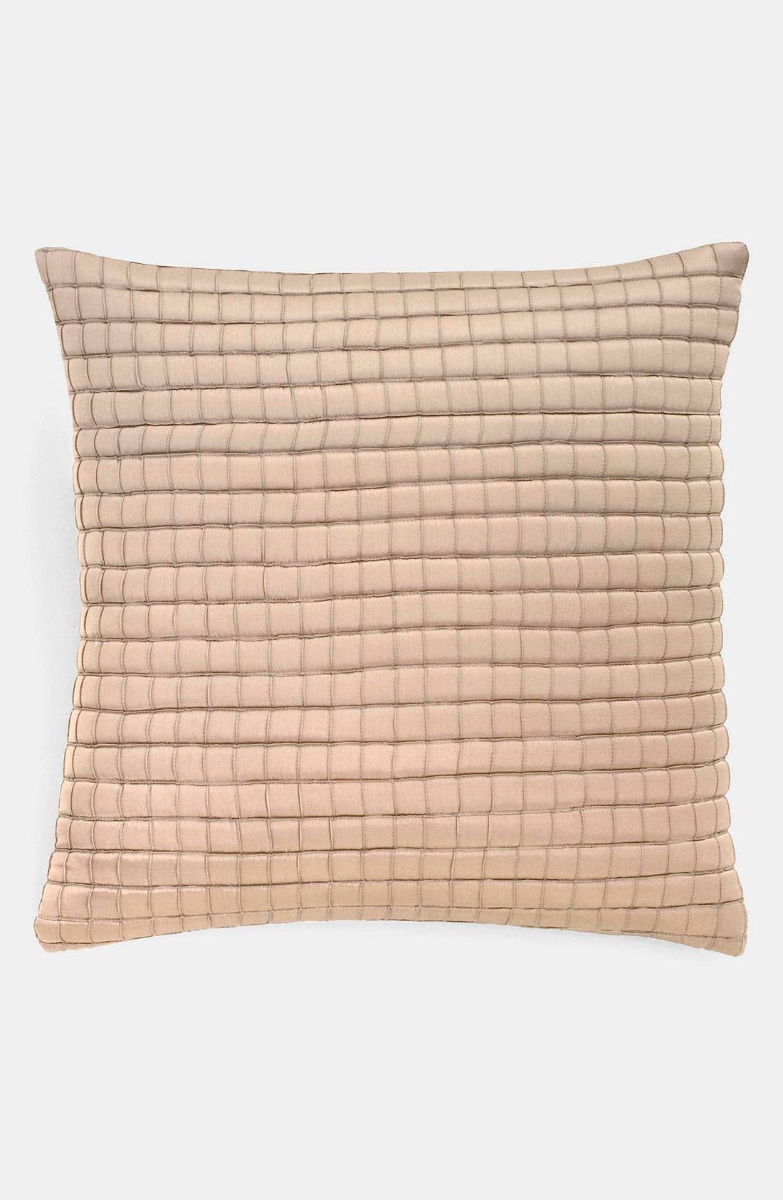 Alternate Image 1 Selected - Donna Karan Tufted Silk Pillow (Online Only)