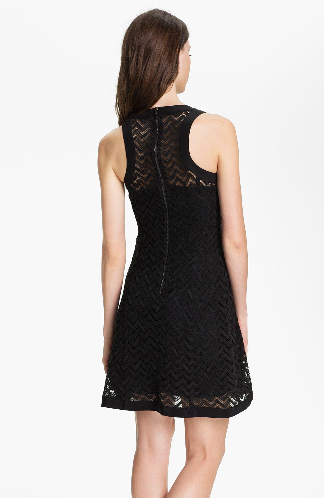 Alternate Image 2  - Nanette Lepore 'Groovy' Knit Shift Dress