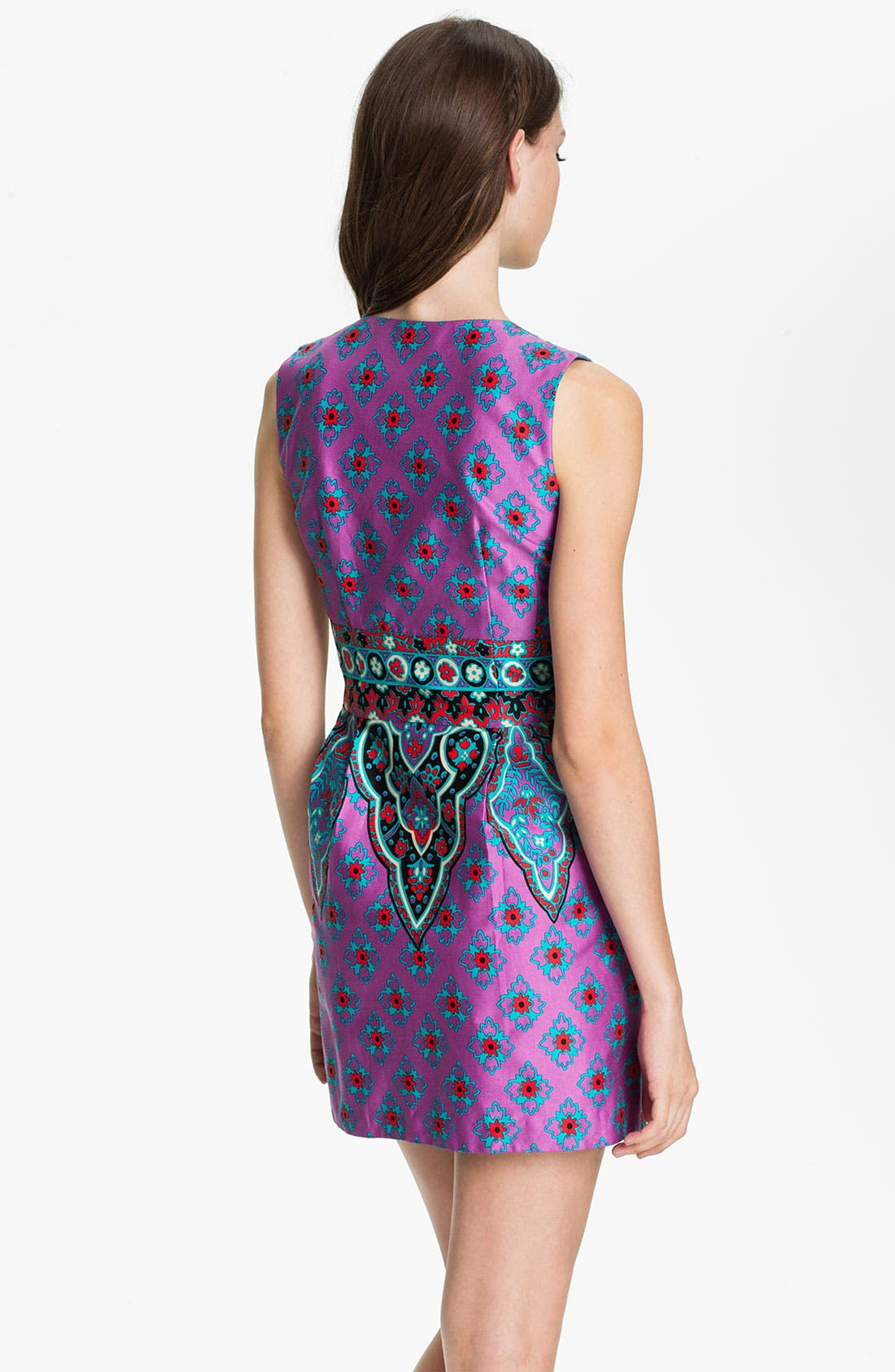 Alternate Image 2  - Nanette Lepore 'Funkadelic' Stretch Cotton Sheath Dress