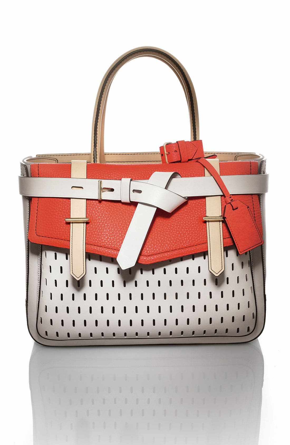 Alternate Image 5  - Reed Krakoff 'Boxer' Perforated Leather Satchel