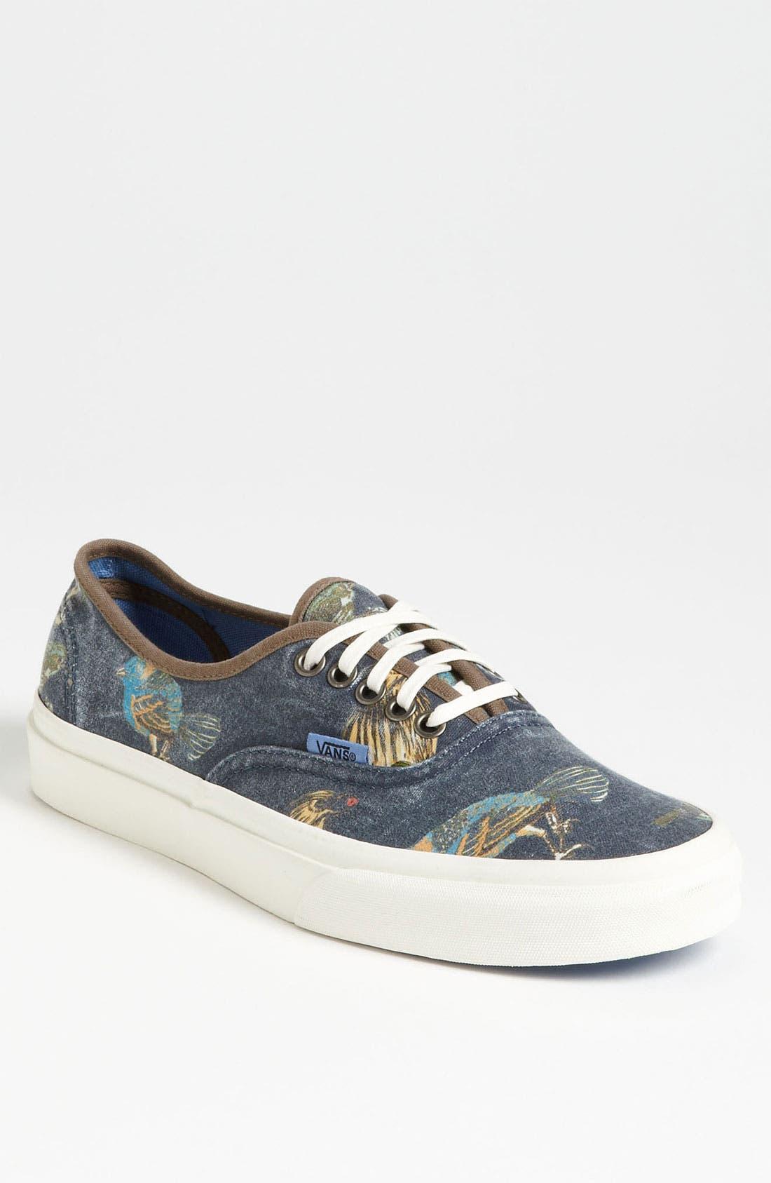 Alternate Image 1 Selected - Vans 'Cali - Authentic' Print Sneaker (Men)