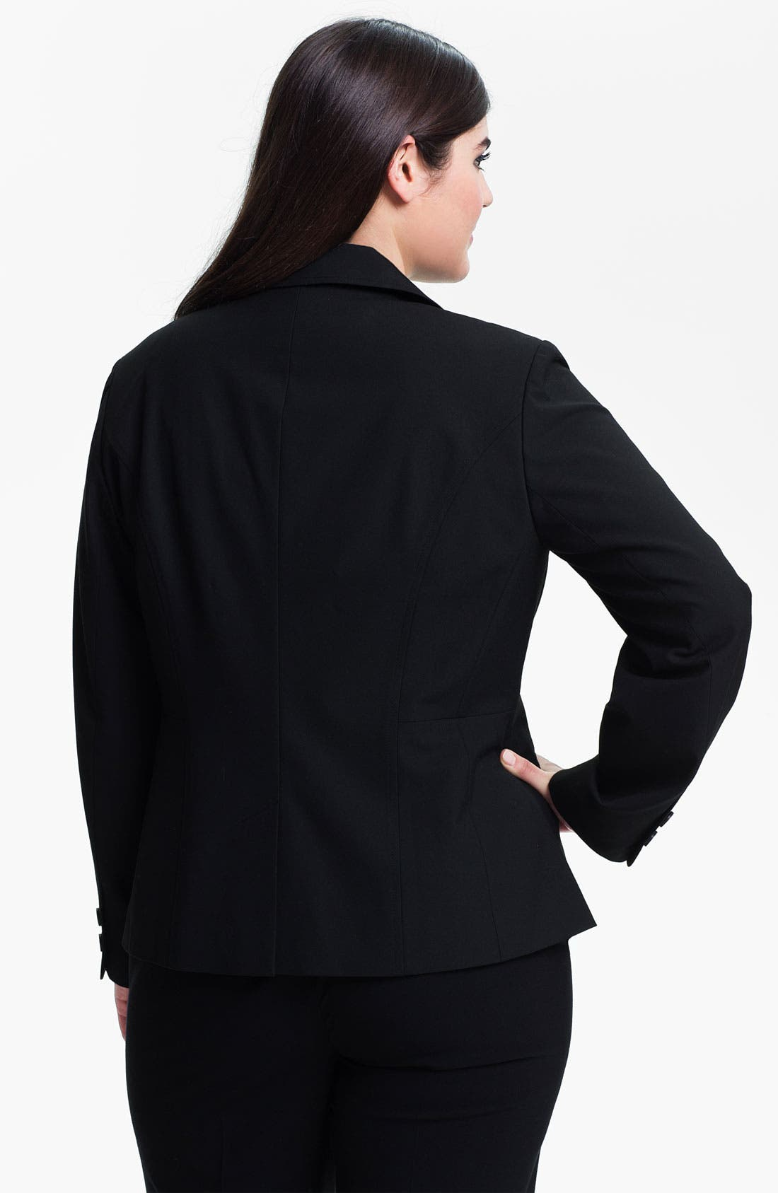Alternate Image 2  - Sejour 'Ela' Blazer (Plus Size)