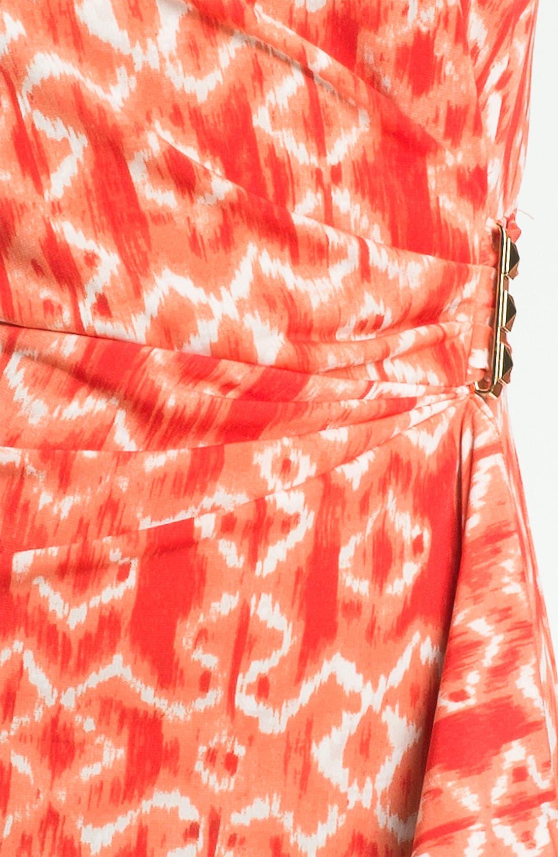 Alternate Image 3  - MICHAEL Michael Kors Ikat Print Dress
