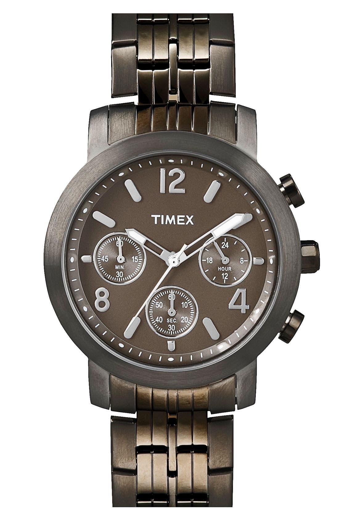Main Image - Timex® Two Tone Bracelet Watch