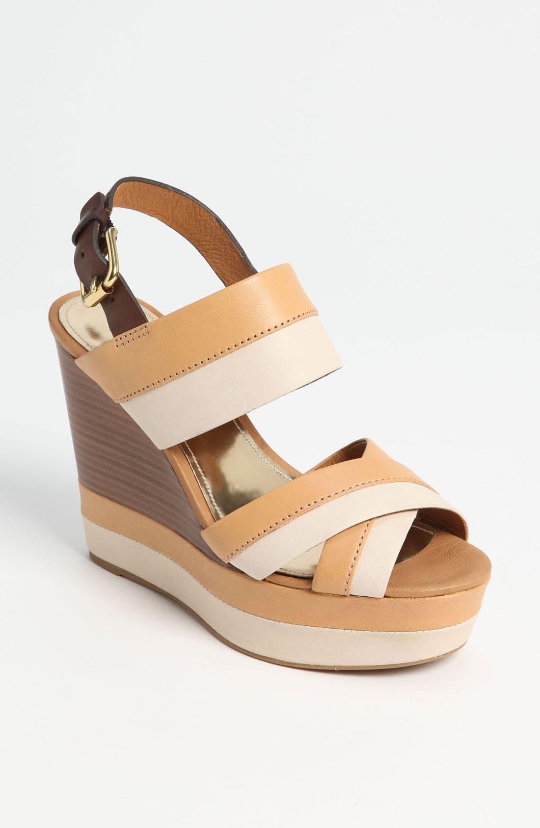 Alternate Image 1 Selected - COACH 'Gaile' Wedge Sandal