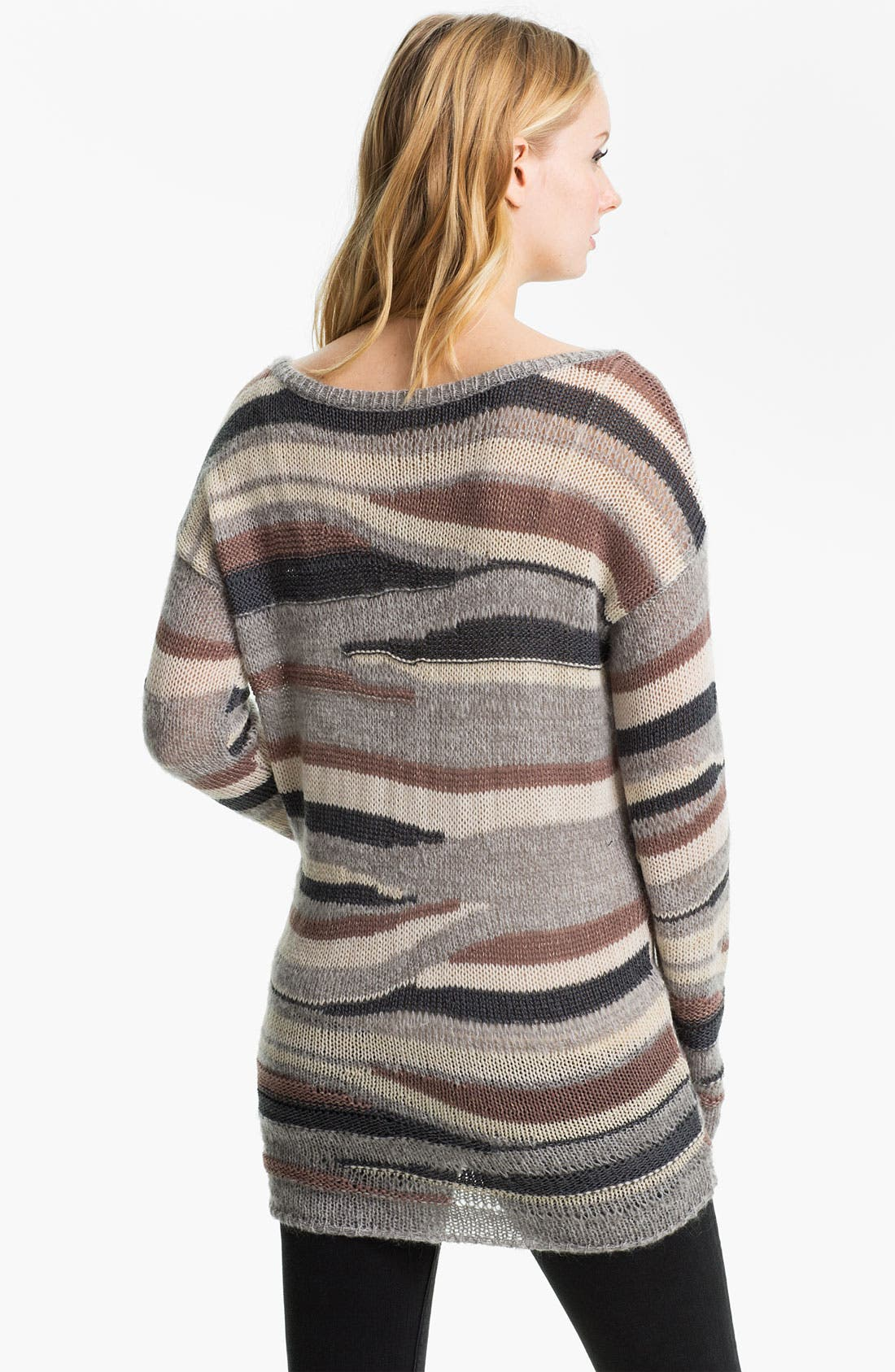 Alternate Image 2  - Hinge® Multicolor Stripe Sweater