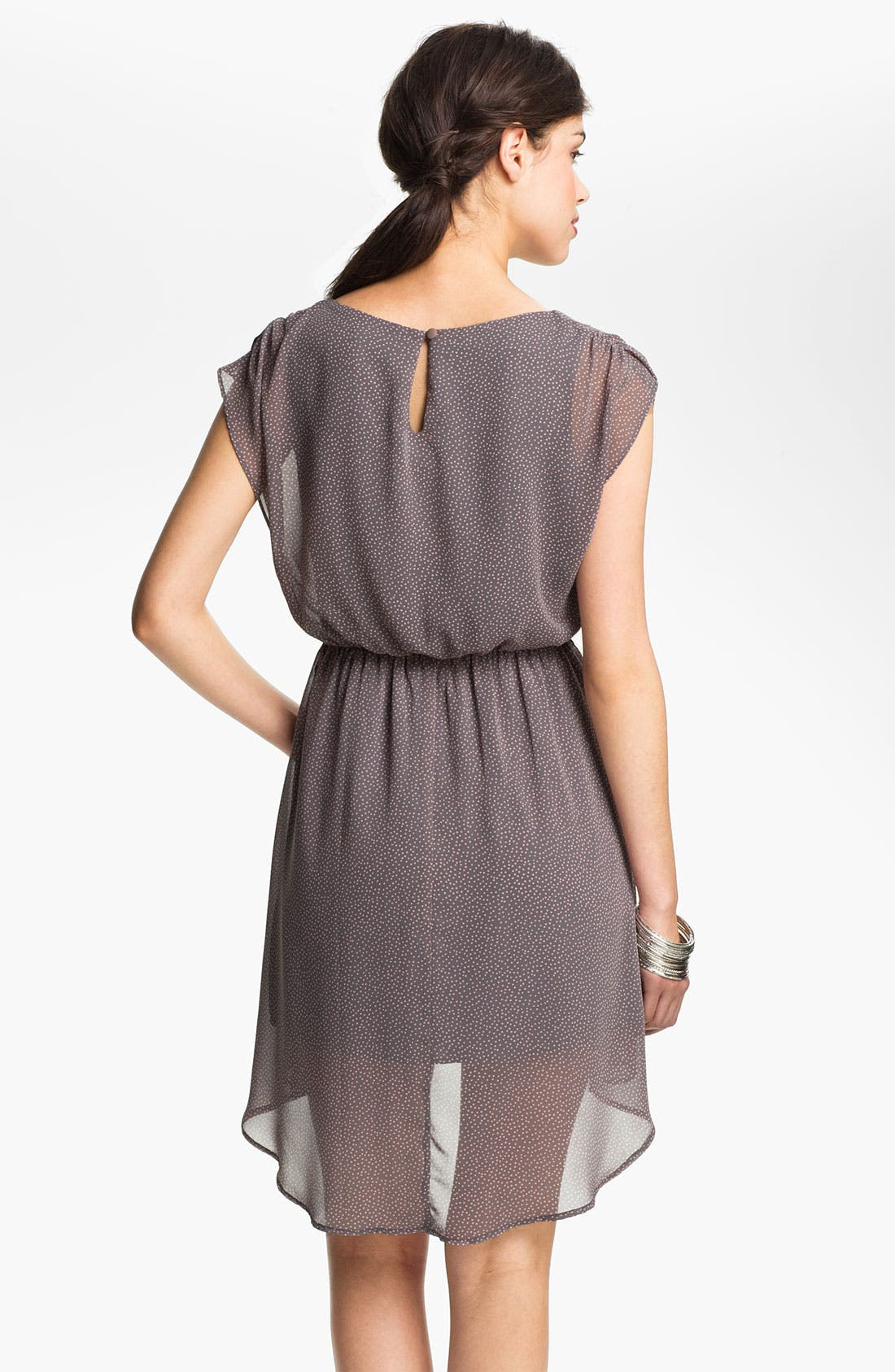 Alternate Image 2  - Lush 'Dakota' Chiffon Dress (Juniors)