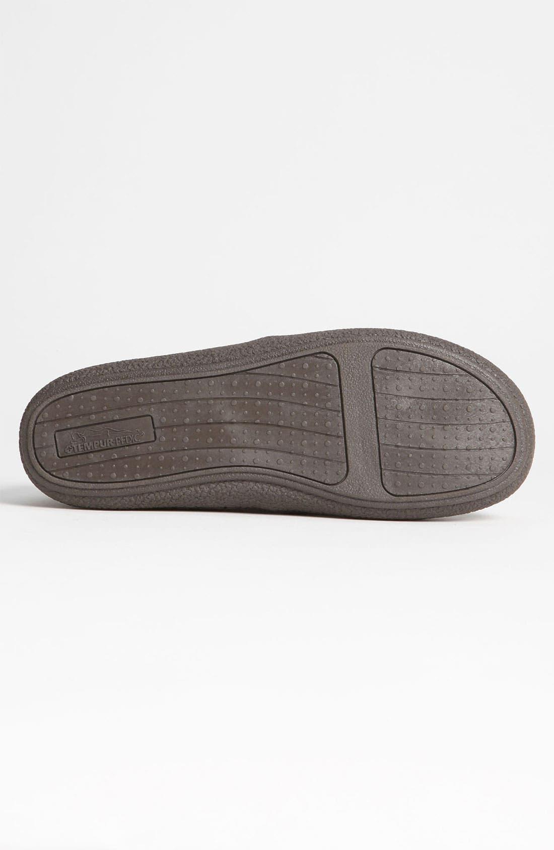 Alternate Image 4  - Tempur-Pedic® Suede Slipper