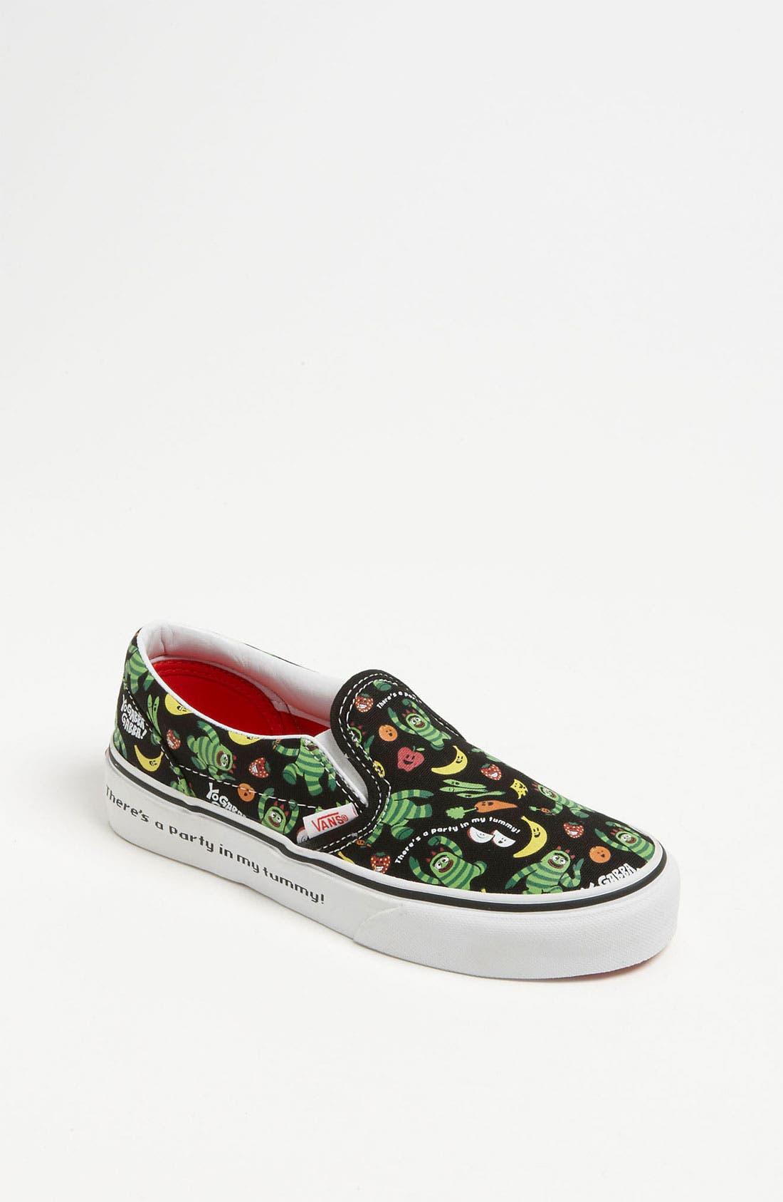 Alternate Image 1 Selected - Vans 'Classic - Yo Gabba Gabba!™' Slip-On Sneaker (Toddler, Little Kid & Big Kid)