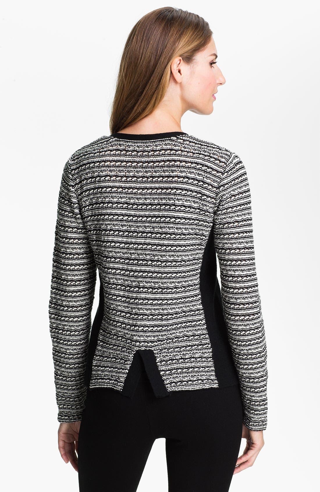 Alternate Image 2  - Fever Snap Front Sweater Jacket