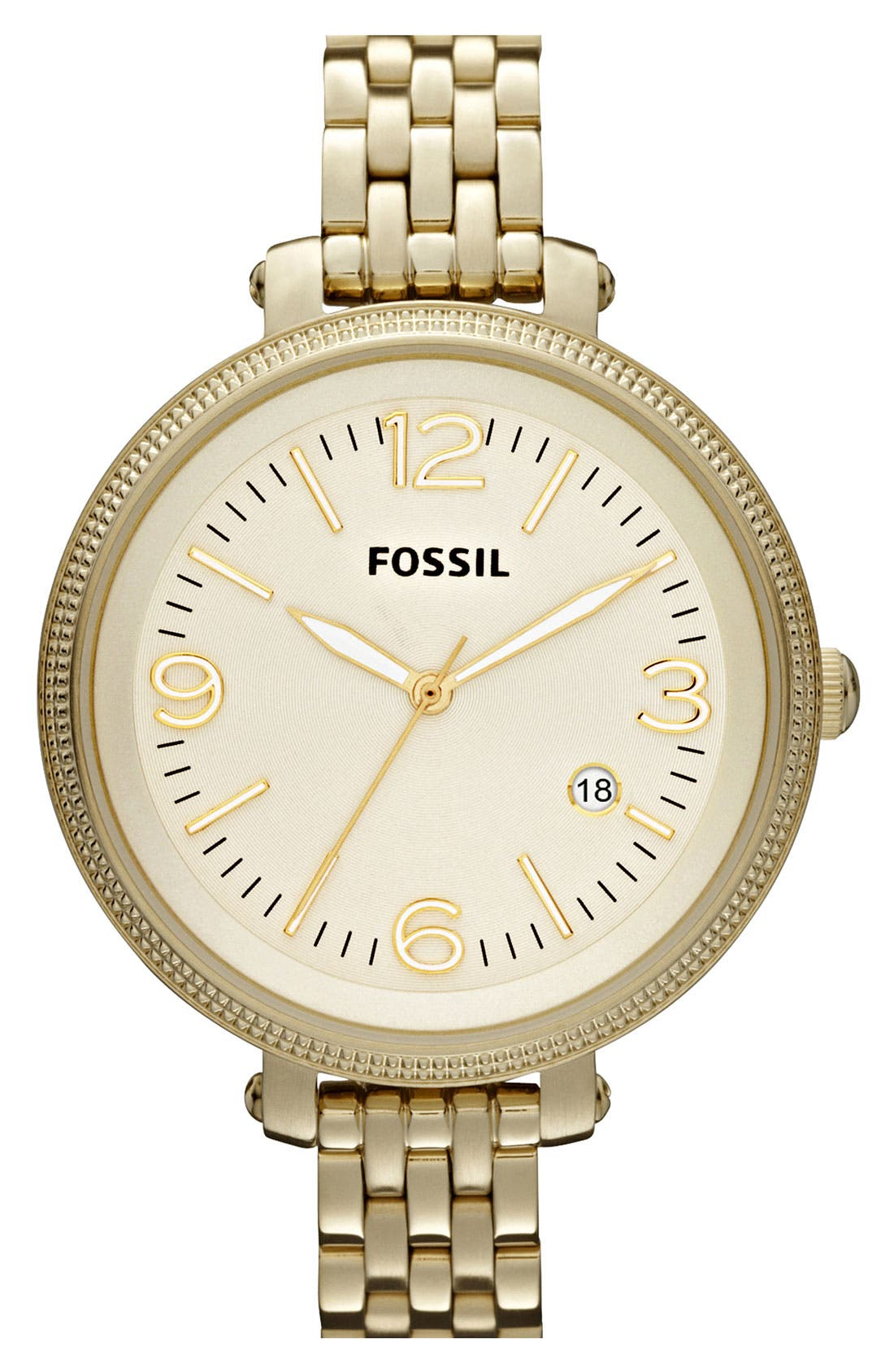 Main Image - Fossil 'Heather' Bracelet Watch, 42mm