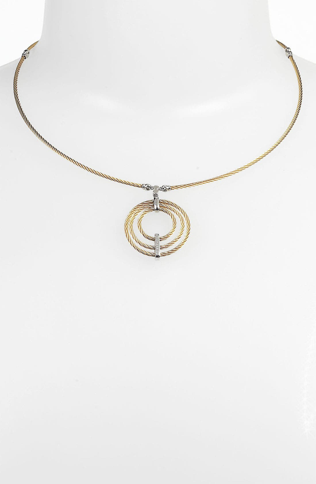 Main Image - ALOR® Round Cable Pendant Necklace