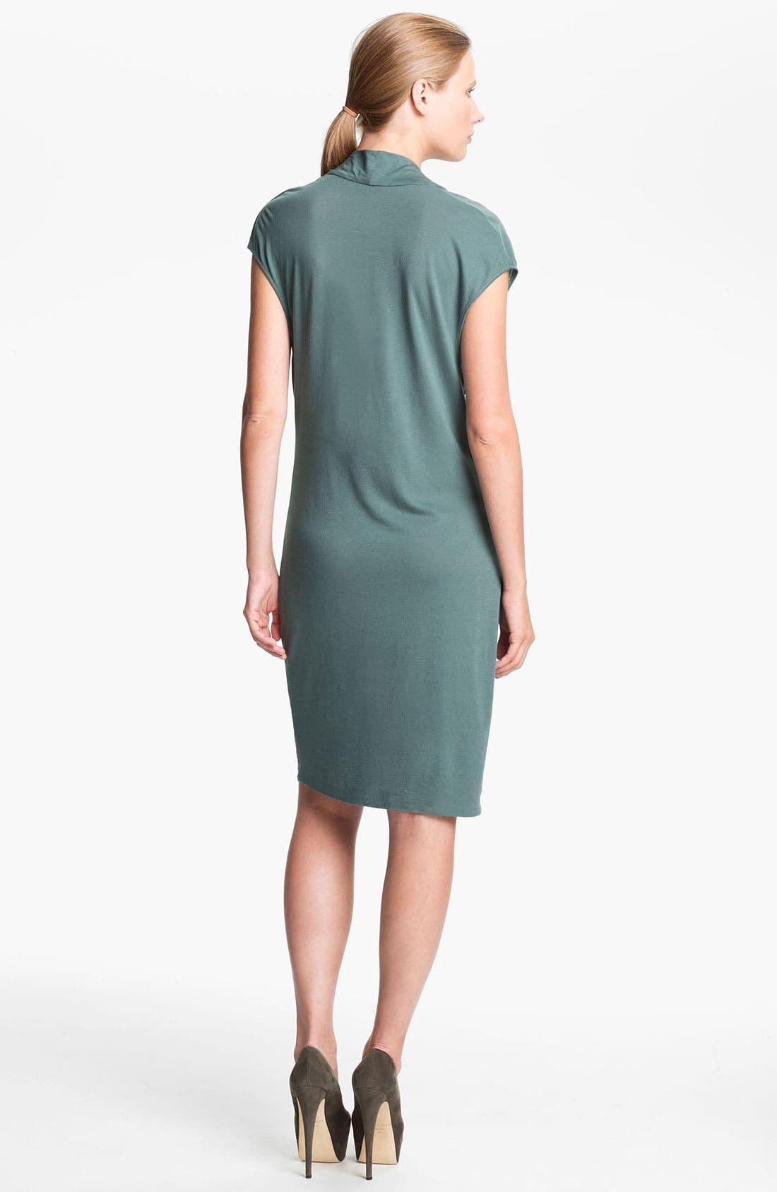 Alternate Image 2  - HELMUT Helmut Lang Draped Jersey Dress