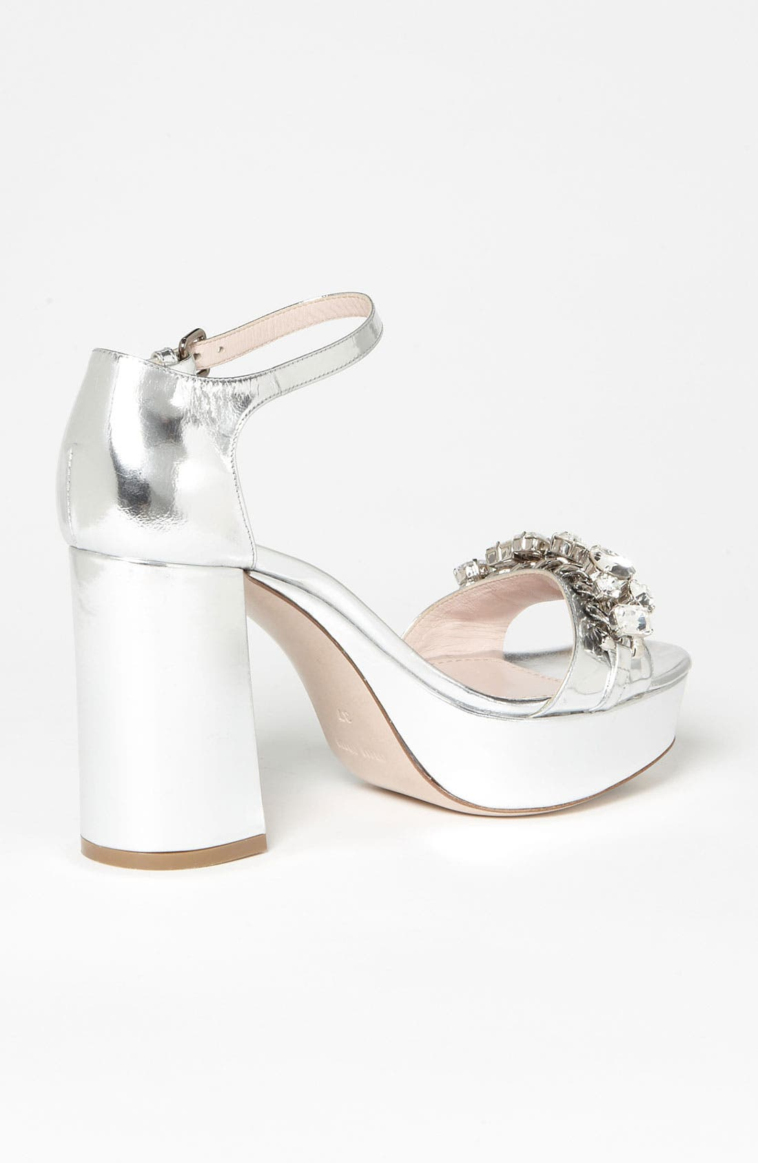 Alternate Image 2  - Miu Miu Crystal Block Heel Sandal