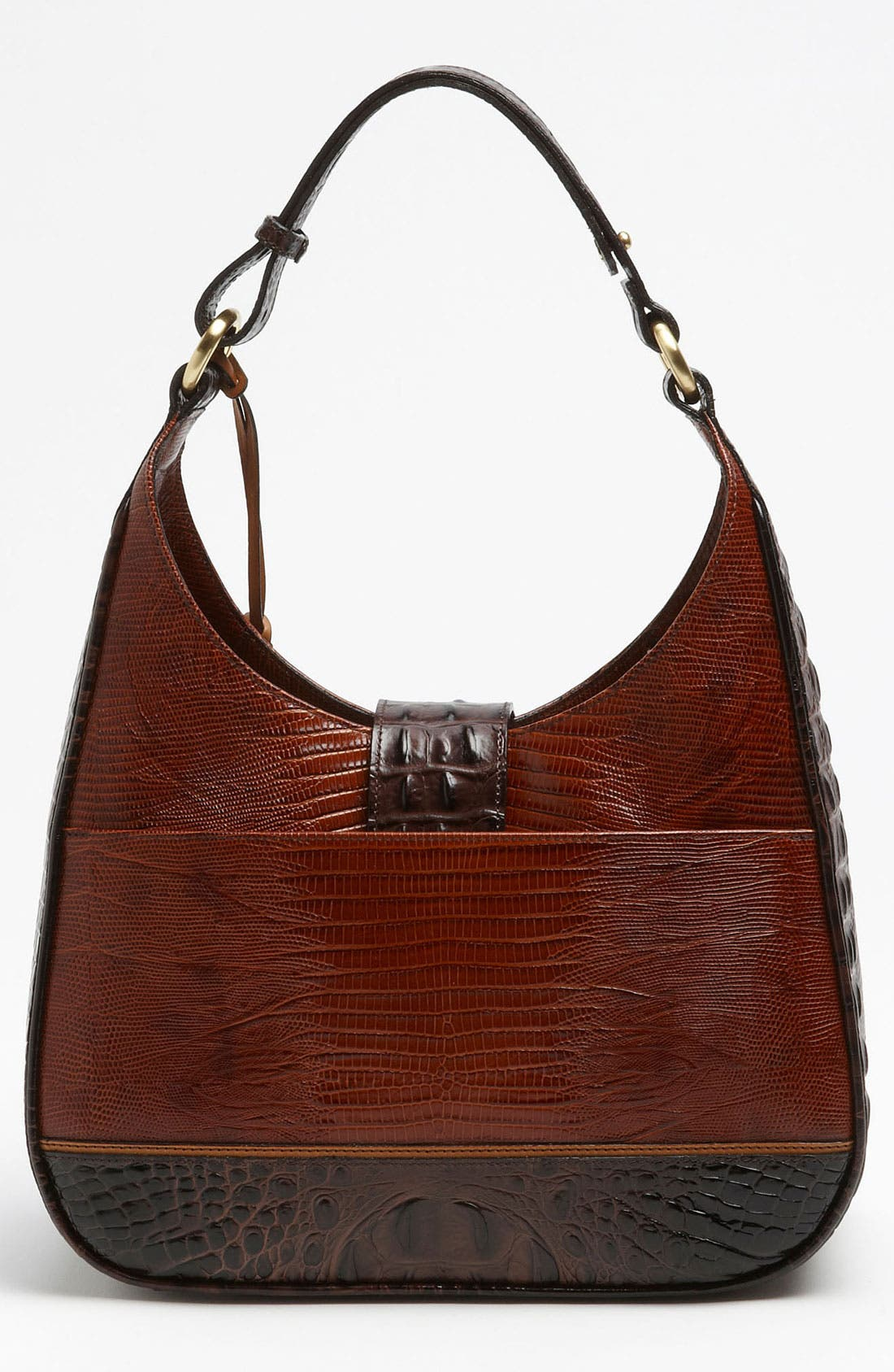 Alternate Image 4  - Brahmin 'Tri-Texture Quinn' Shoulder Bag