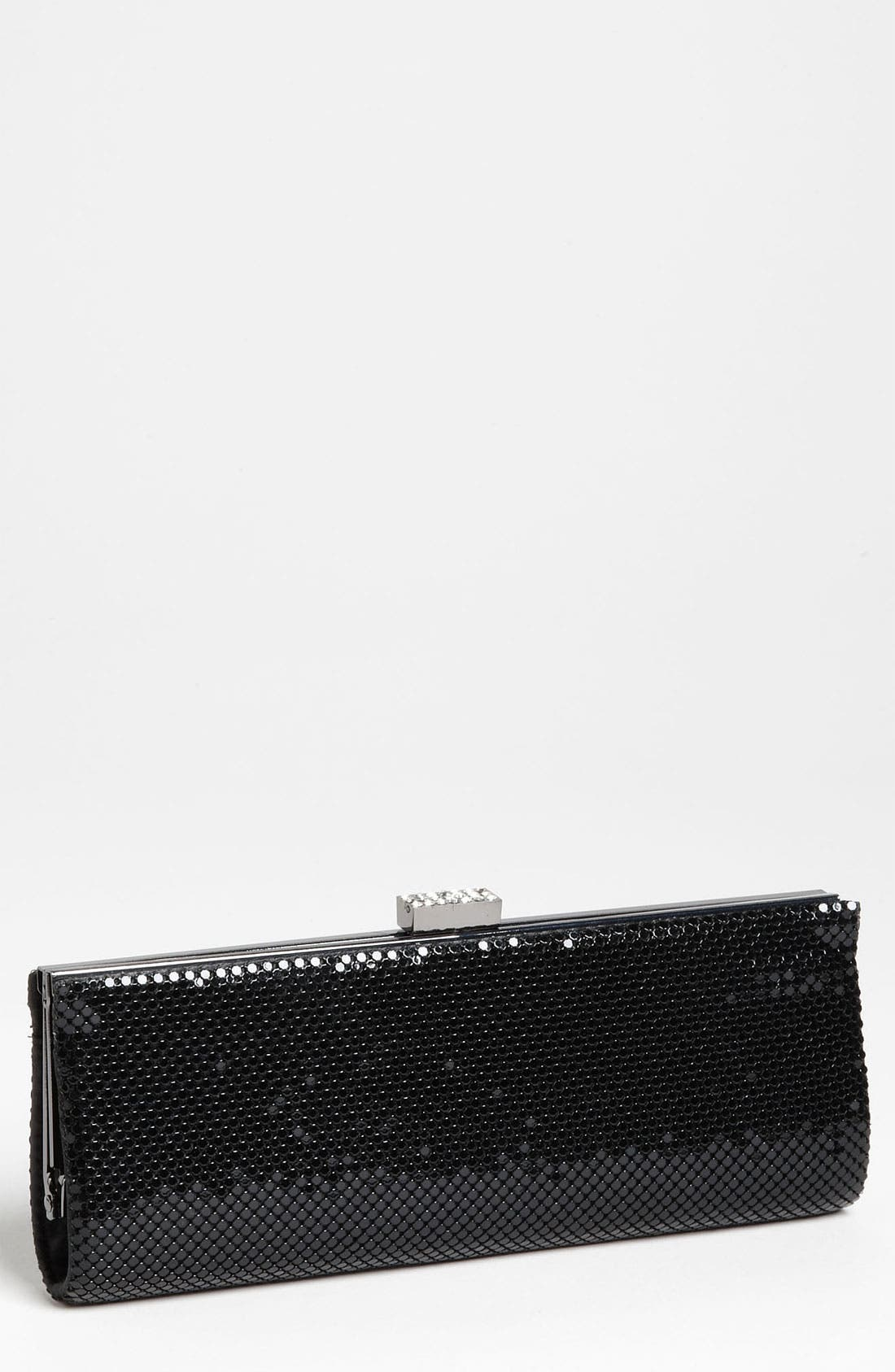 Alternate Image 1 Selected - Jessica McClintock Mesh Framed Clutch