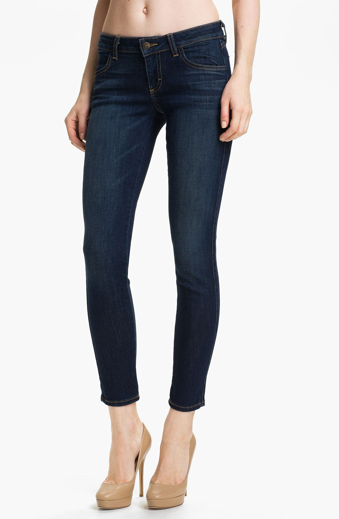 Alternate Image 1 Selected - Siwy 'Hannah' Crop Skinny Stretch Jeans (Intense Love)