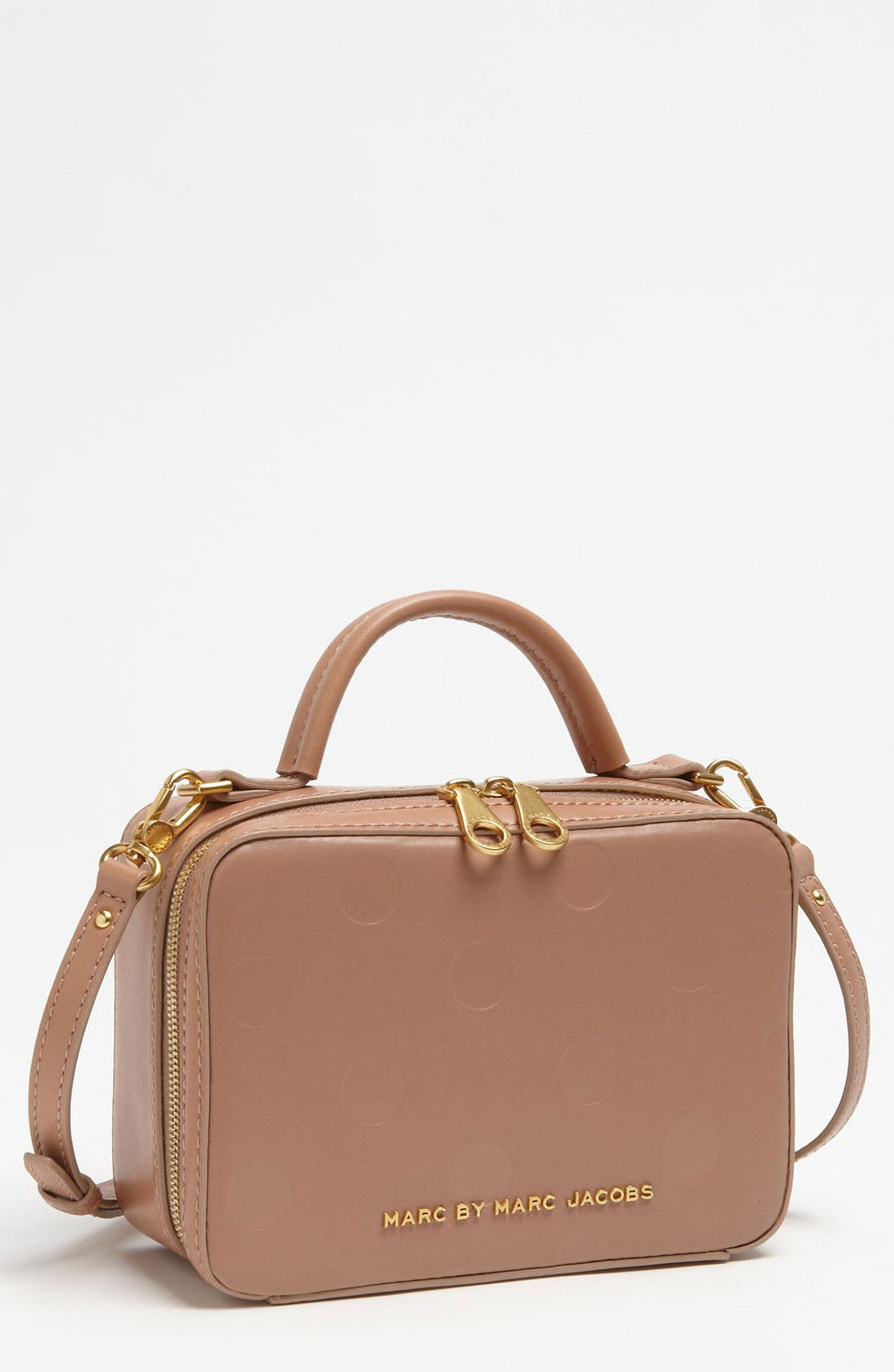 Alternate Image 1 Selected - MARC BY MARC JACOBS 'Party Box' Leather Satchel