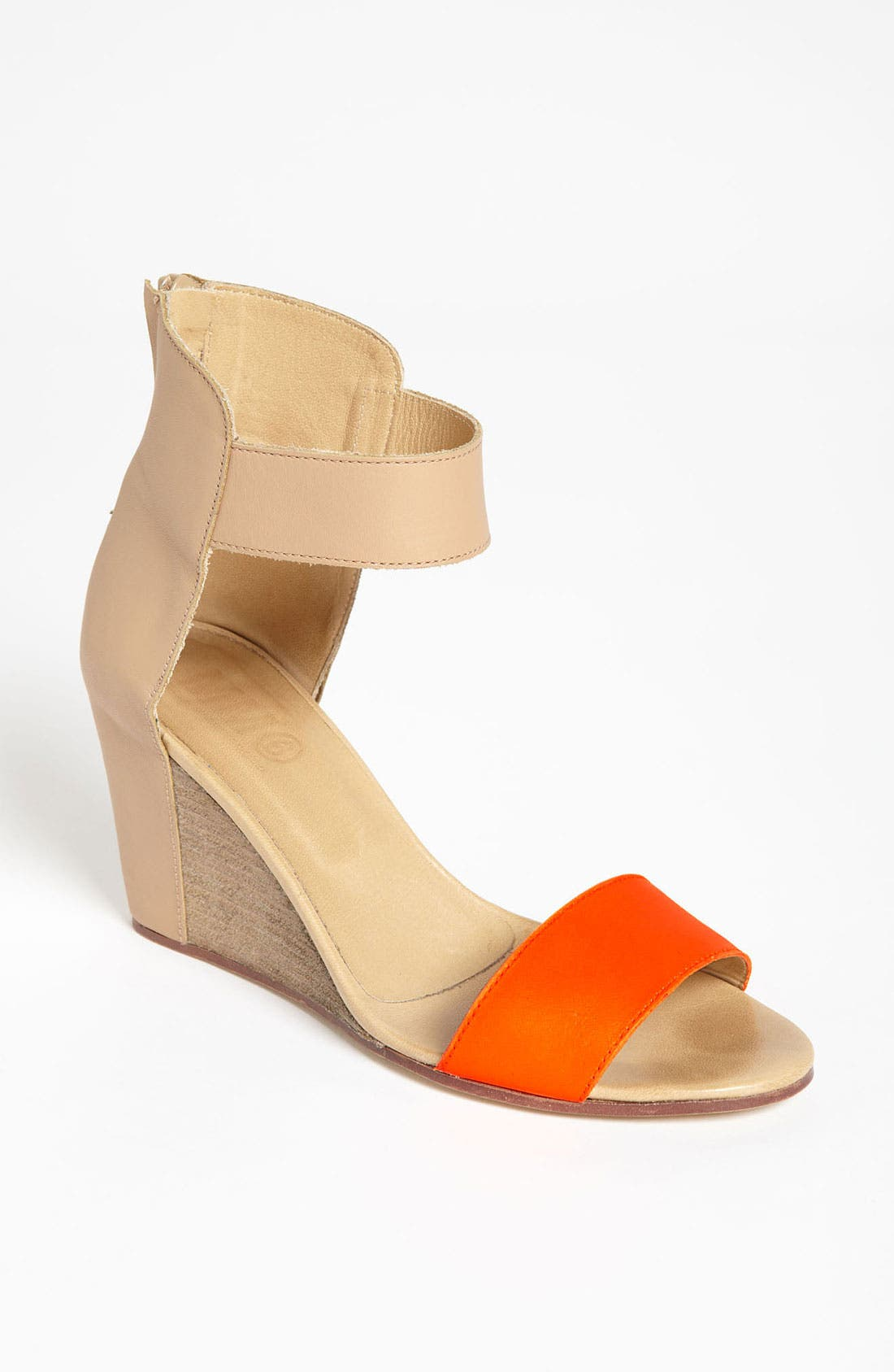 Alternate Image 1 Selected - MM6 Maison Margiela Two Tone Wedge Sandal