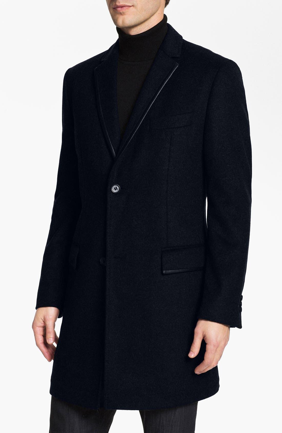 Alternate Image 1 Selected - BOSS Black 'Zavier' Evening Coat