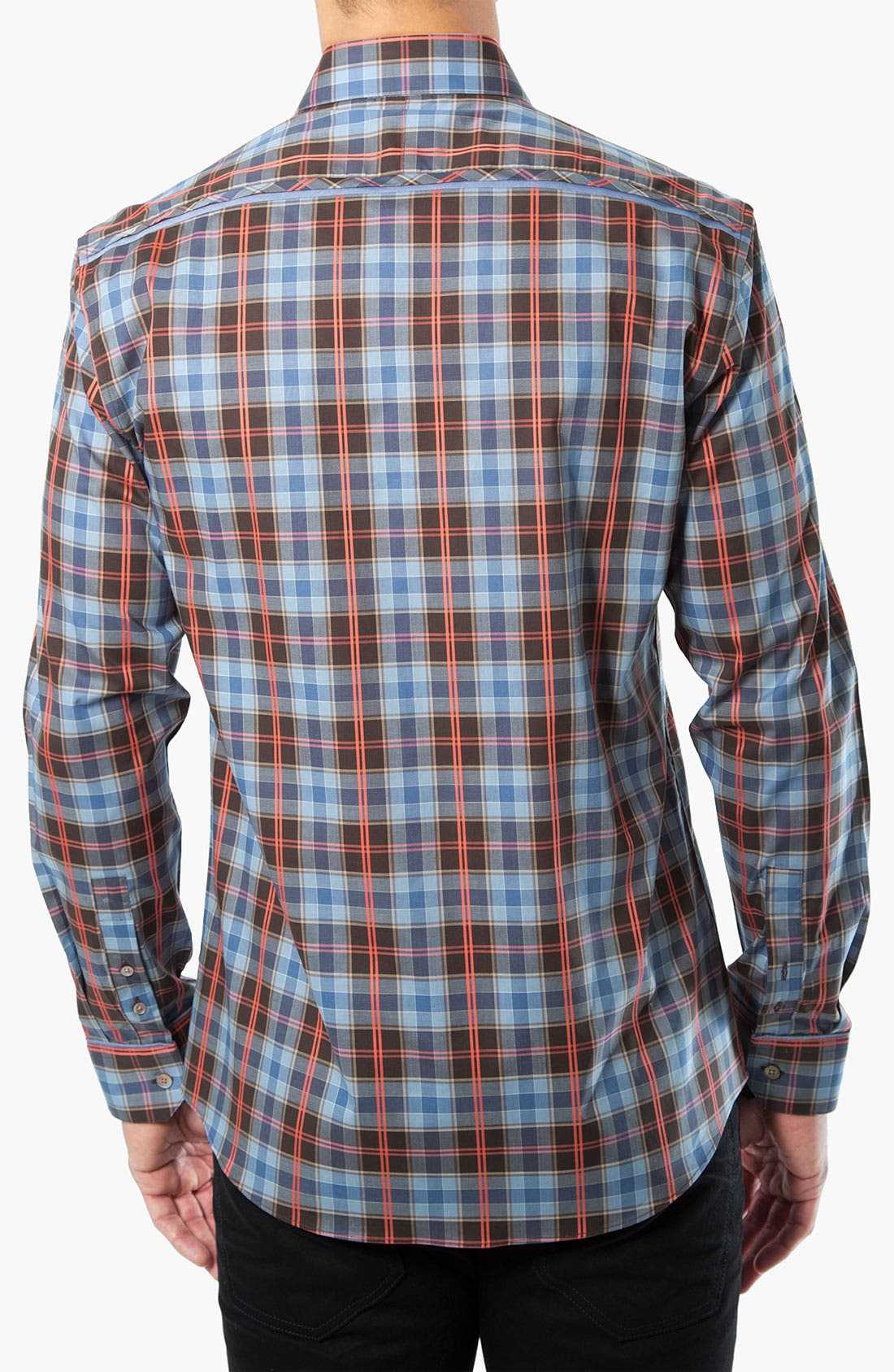 Alternate Image 2  - Kenson Plaid Sport Shirt