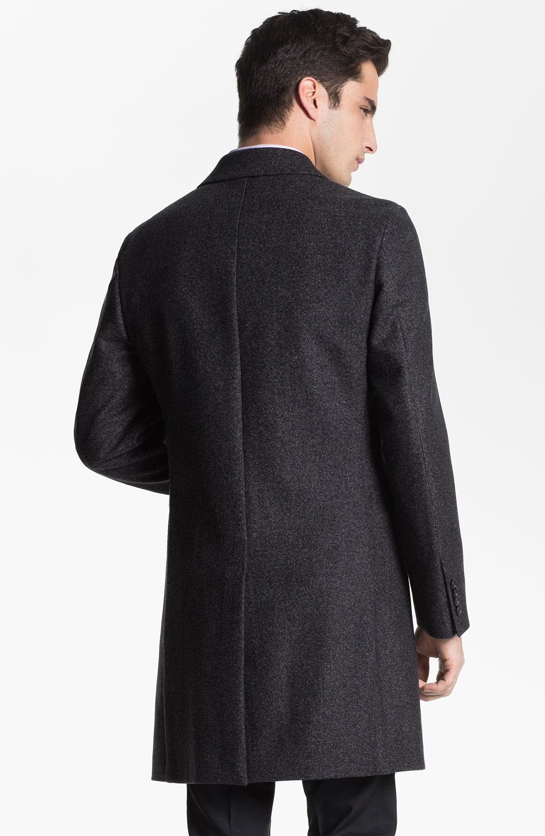 Alternate Image 2  - Z Zegna 'Vintage Granite' Wool Top Coat
