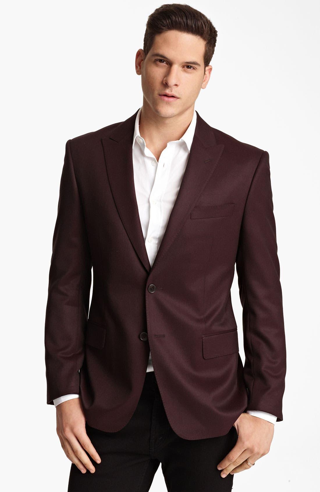 Main Image - Versace Trim Fit Blazer