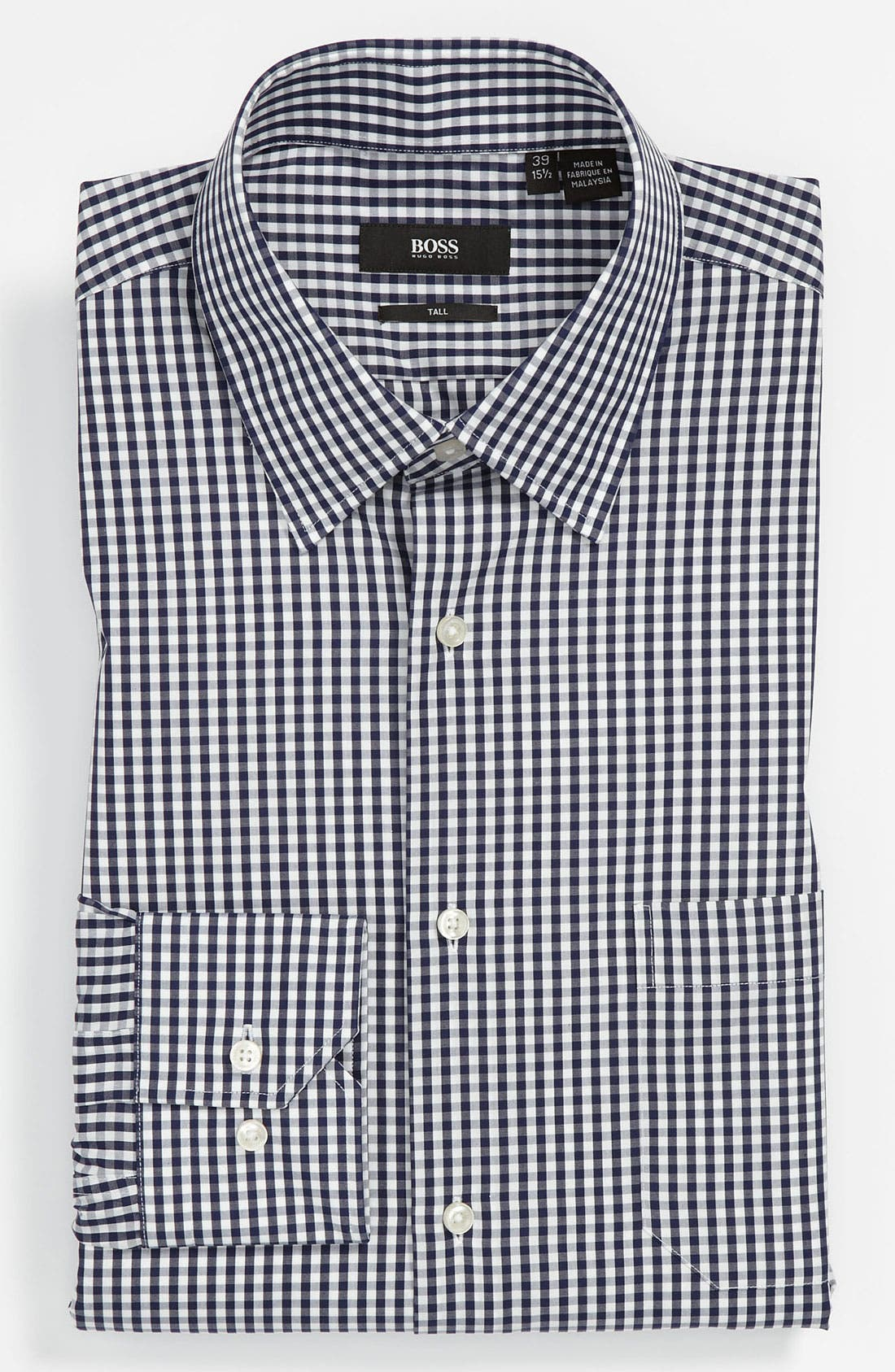 Alternate Image 1 Selected - BOSS Black Comfort Fit Non-Iron Dress Shirt (Big & Tall)