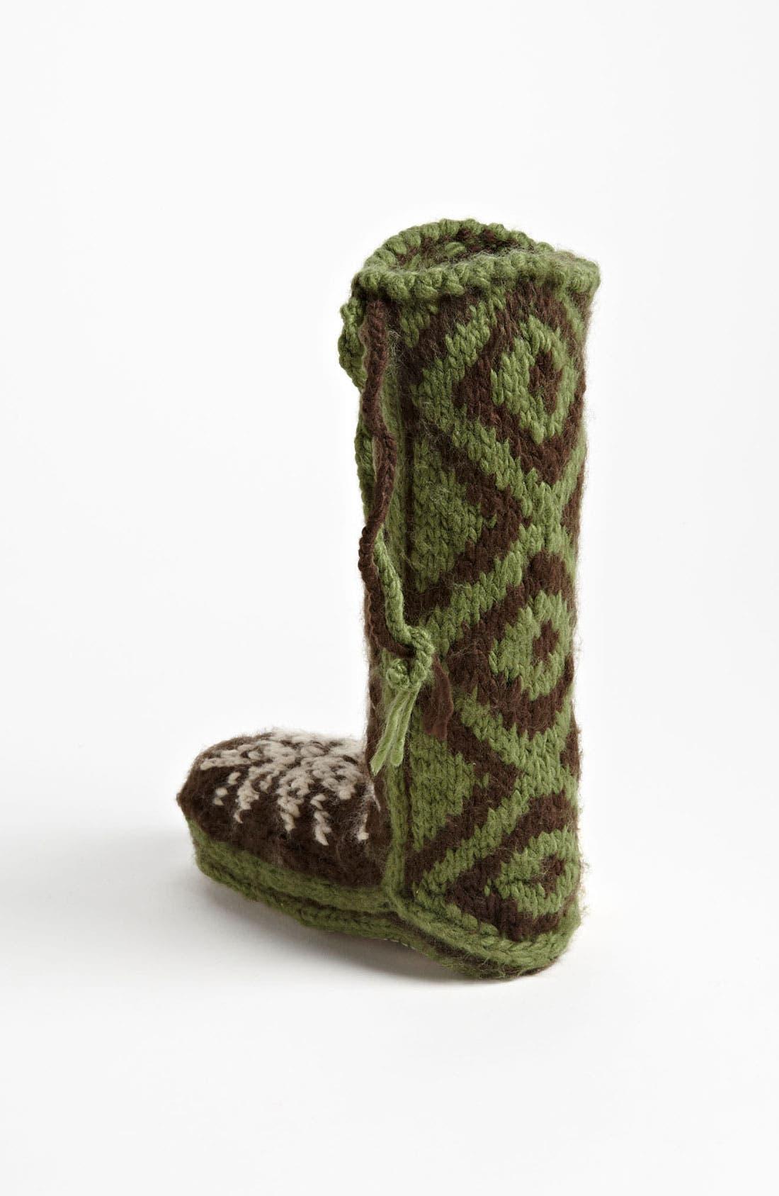 Alternate Image 2  - Woolrich 'Chalet' Slipper Socks