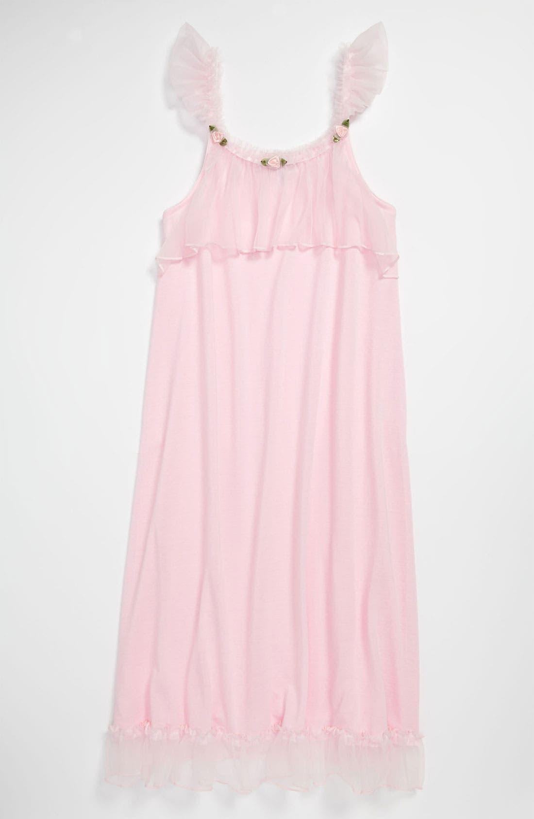 Alternate Image 1 Selected - Laura Dare Nightgown (Big Girls)